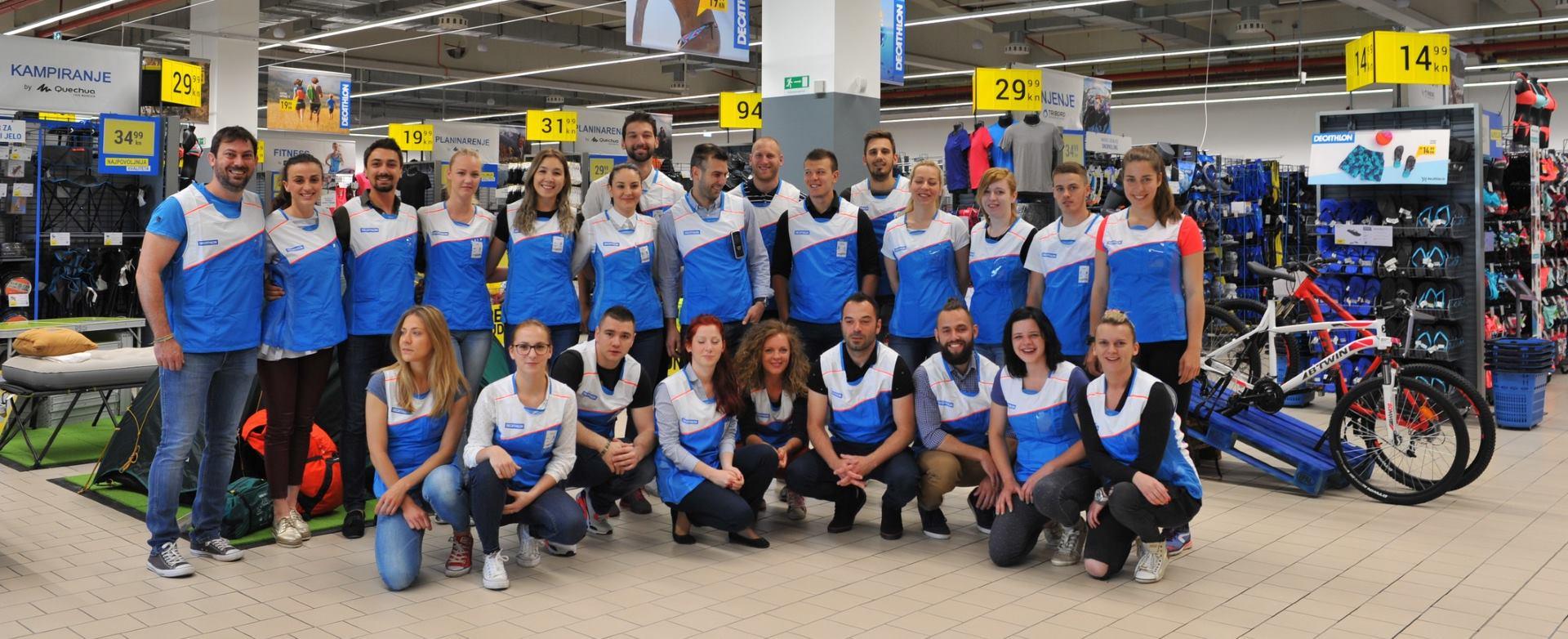 FOTO: Lanac sportske opreme Decathlon otvorio svoju prvu trgovinu u Gradu Osijeku