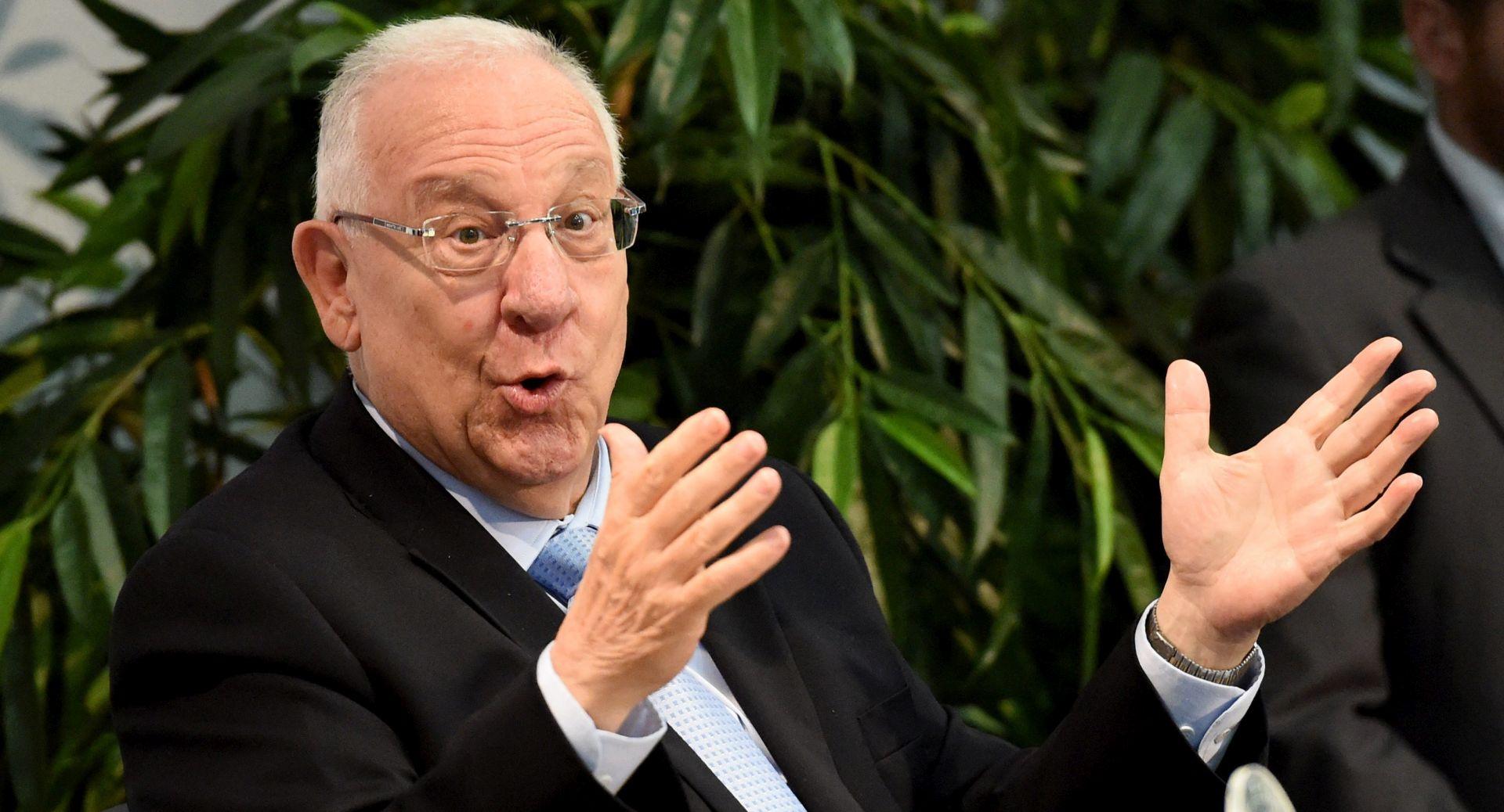 Izraelski predsjednik poziva strana veleposlanstva da se presele u Jeruzalem