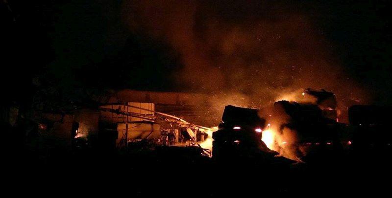 BIH Veliki požar uništio tržnicu u Tuzli