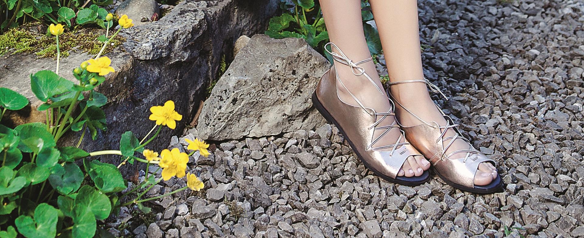 Romantične sandale