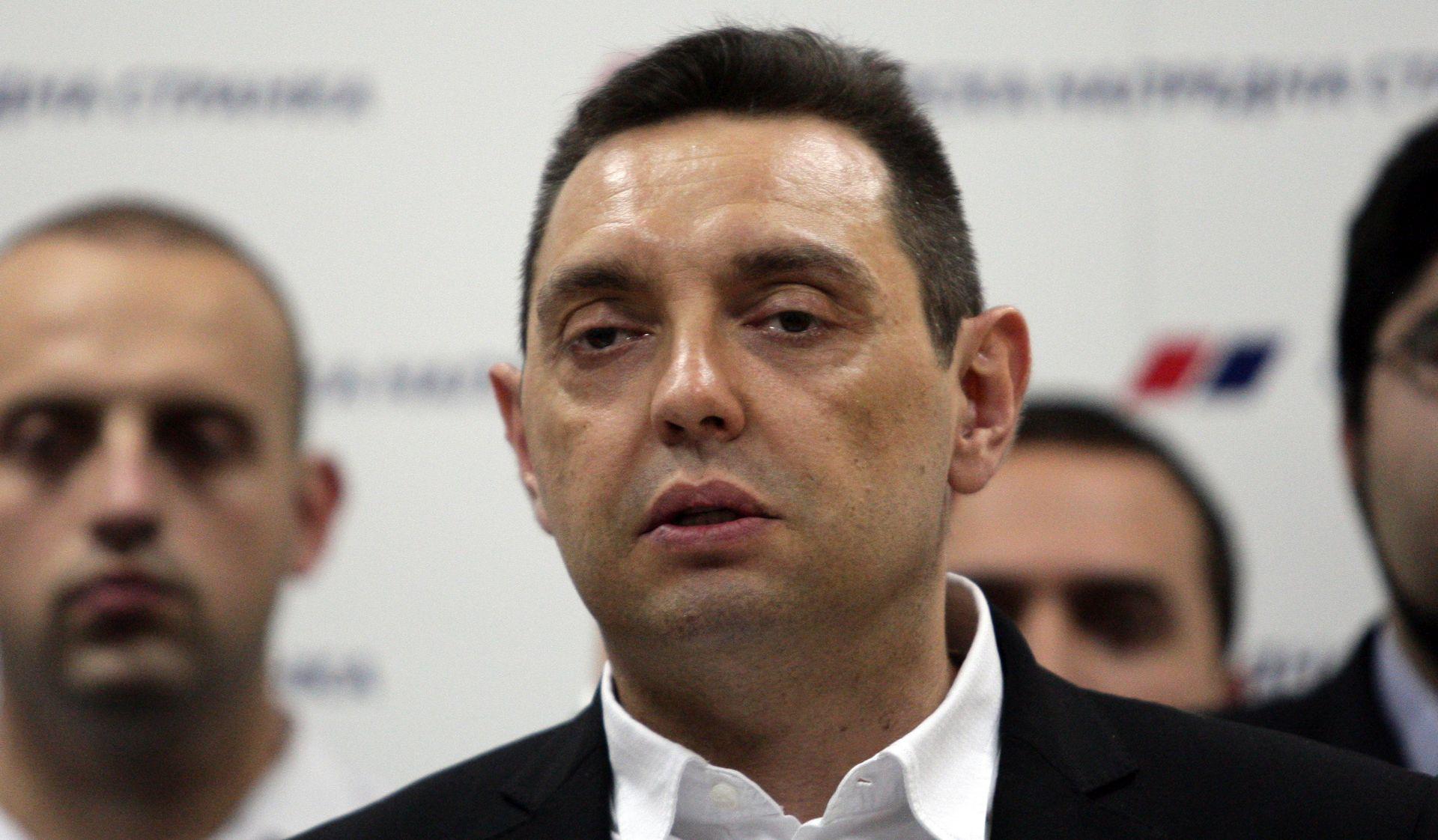"VULIN ""Slavili ste dan kada je zaklano 100 srpskih civila"""