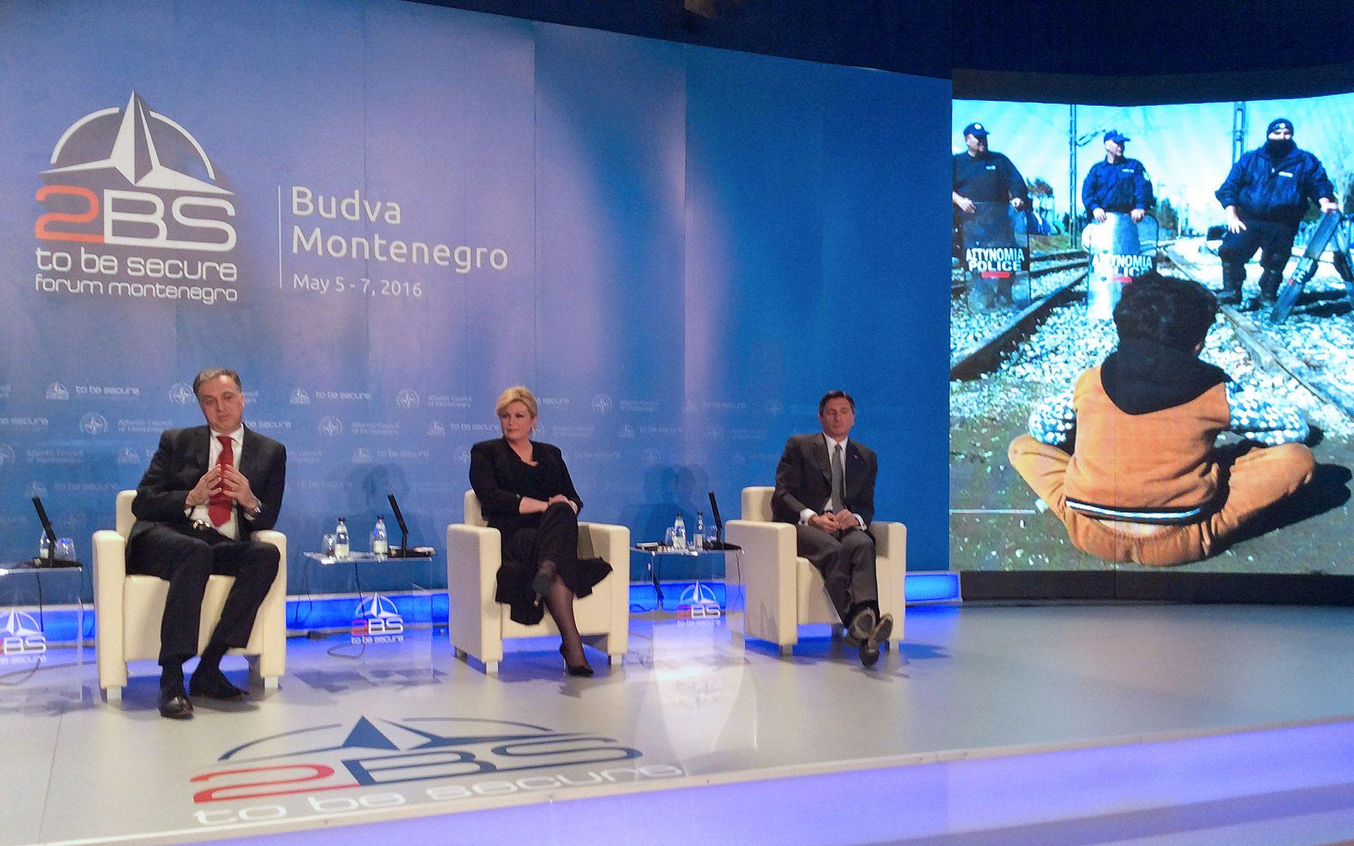 Grabar-Kitarović u subotu na 2BS Forumu u Budvi