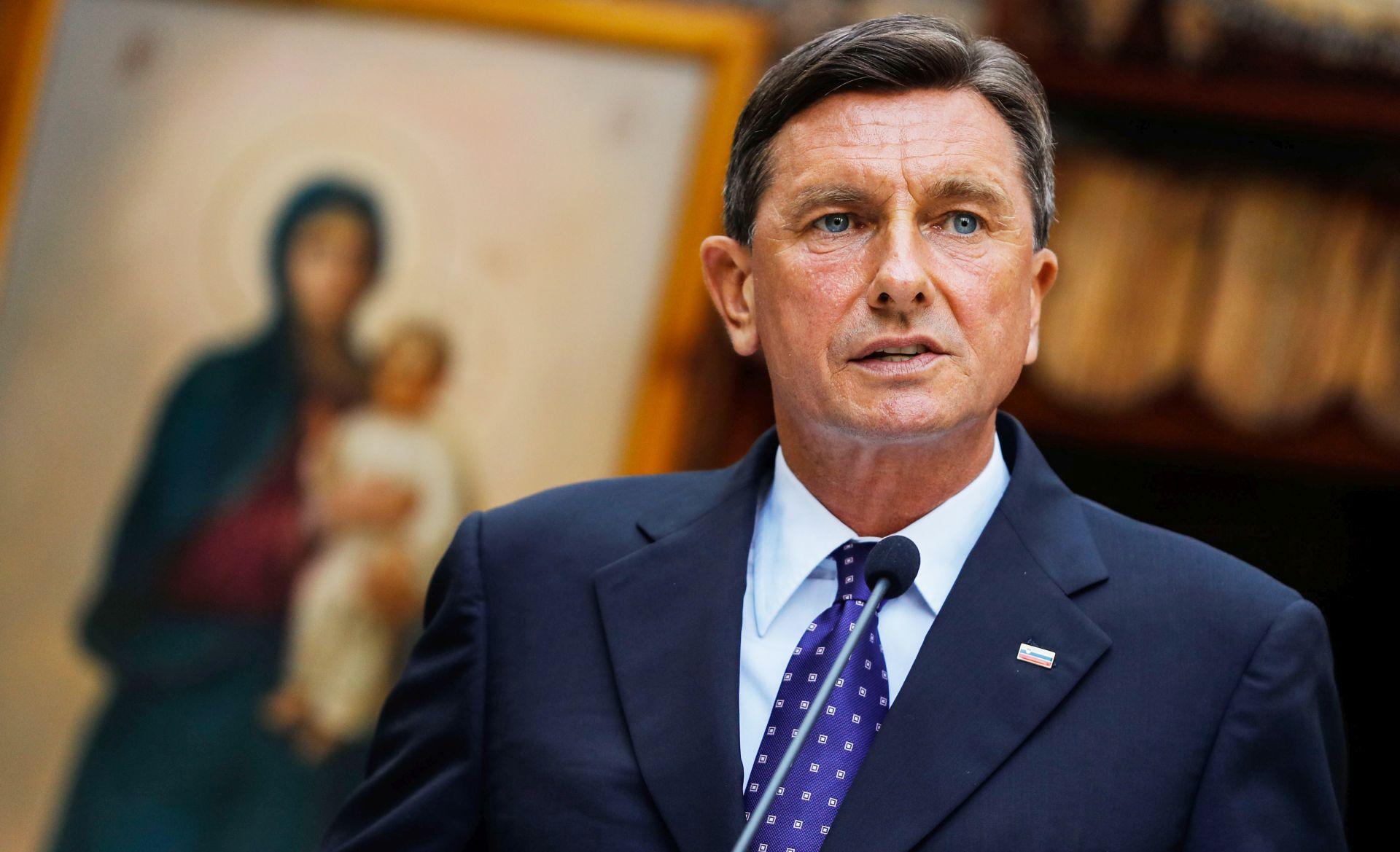 ANKETA Pahoru se smiješi drugi mandat slovenskog predsjednika