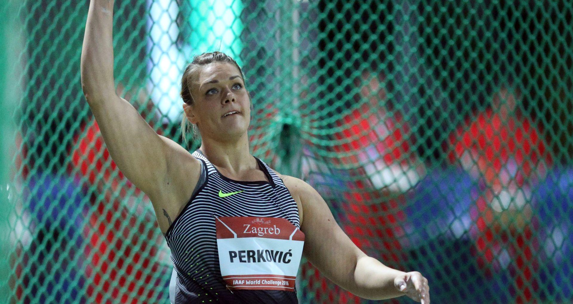 Sandra Perković postavila novi hrvatski rekord