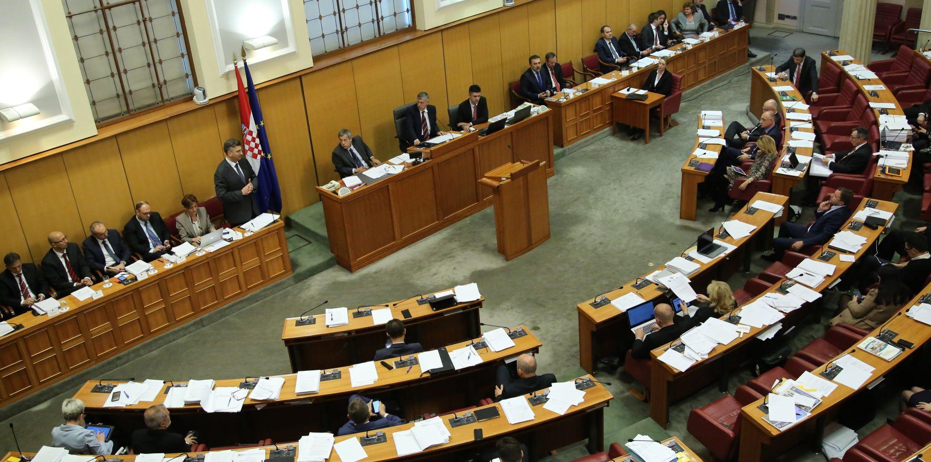 SRIJEDA U SABORU Aktualac, izvješće premijera pa rasprava o povjerenju Murganić