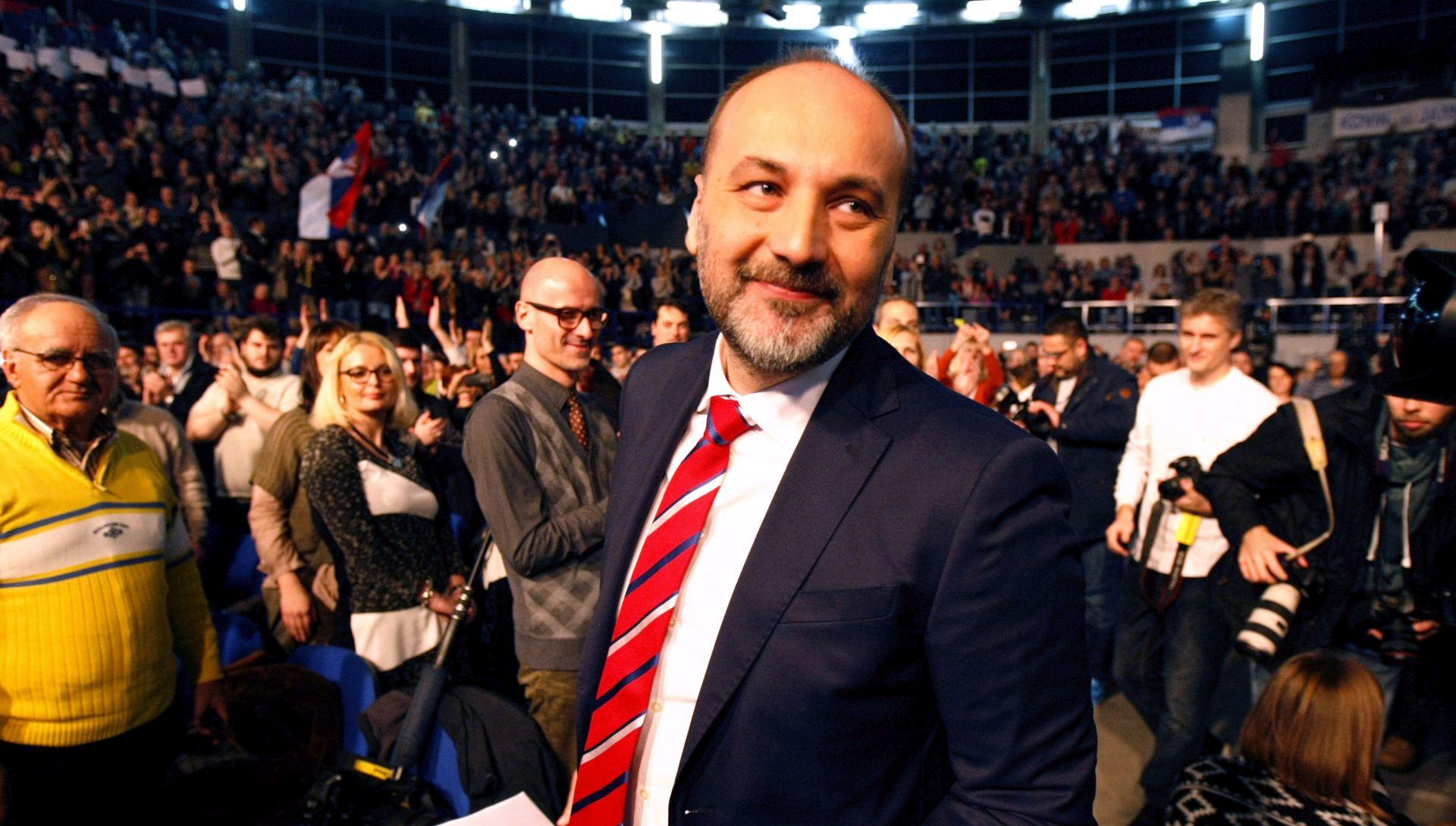 """Predsjednički kandidat Saša Janković osnovao politički pokret """"Slobodni građani Srbije"""""""