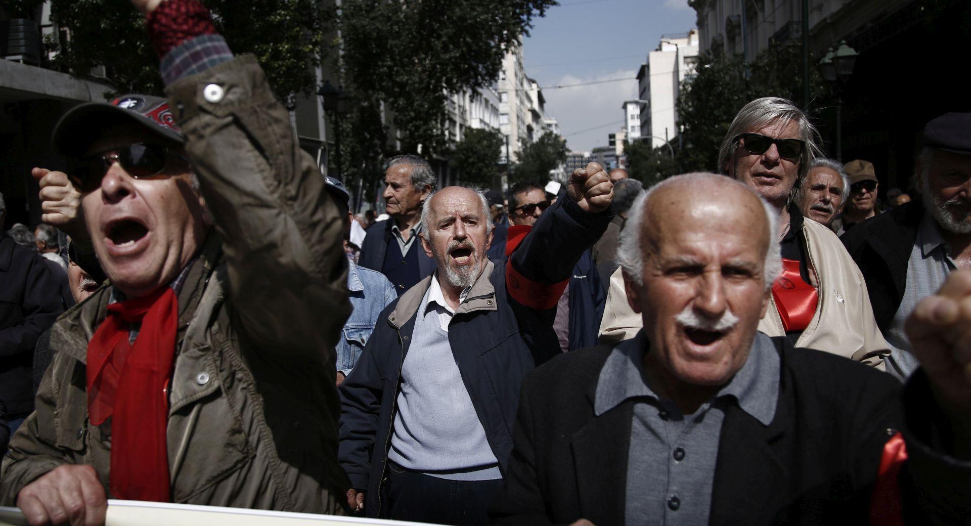 PRAZNIK RADA U GRČKOJ Prosvjedi i štrajk protiv novih mjera štednje