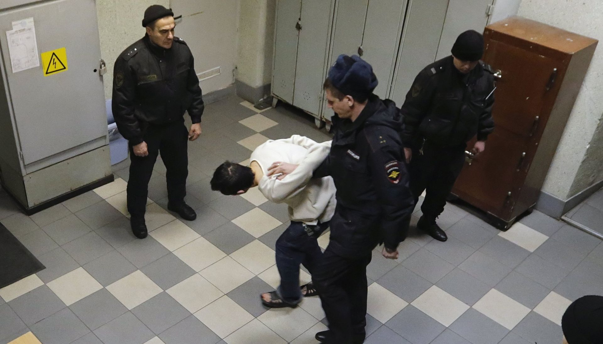 Trojica osumnjičenika za napad u Sankt Peterburgu optužena za terorizam