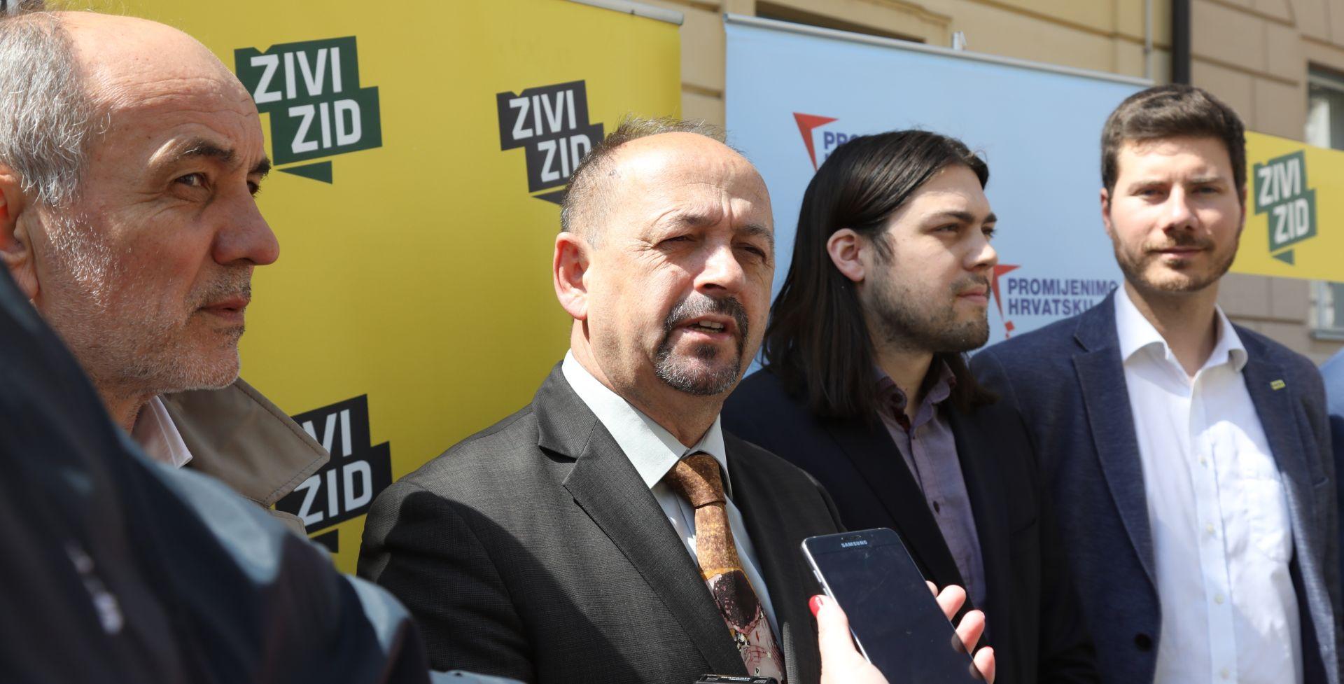Lovrinović predao potpise za kandidaturu za gradonačelnika Zagreba i listu za Gradsku skupštinu