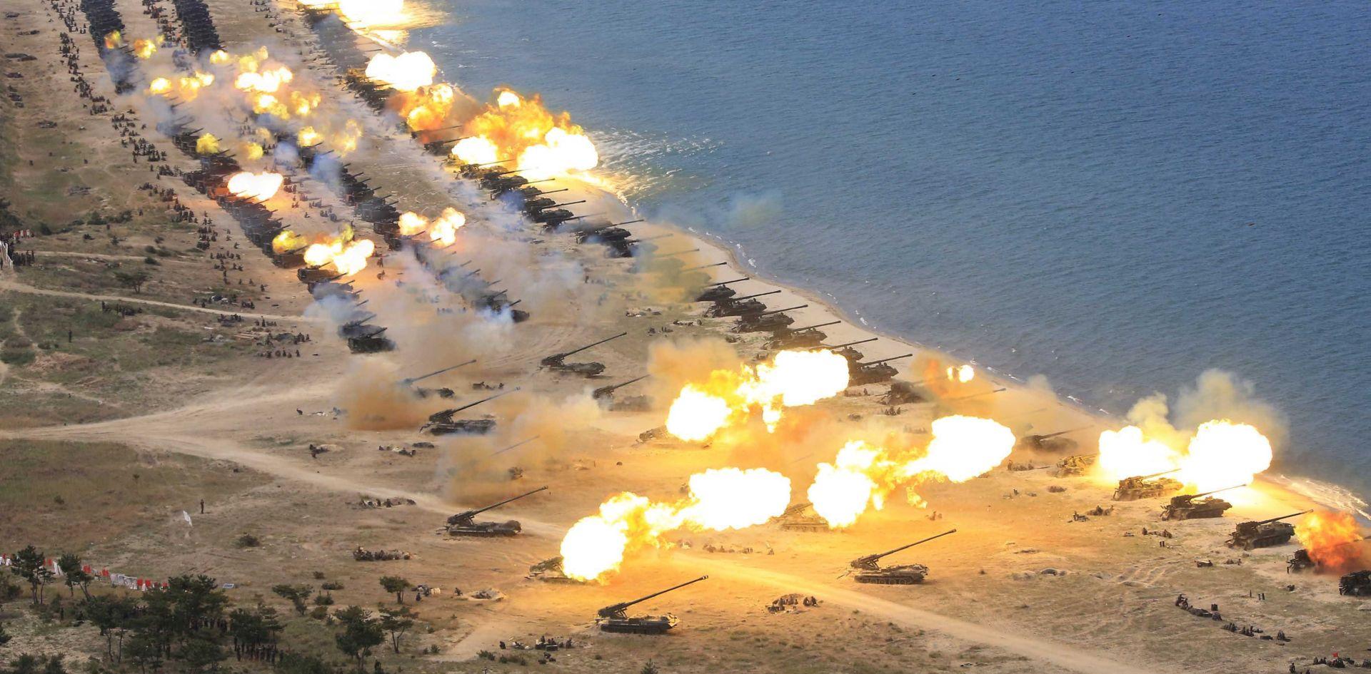 SJEVERNA KOREJA 'SAD dovodi korejski poluotok na rub nuklearnog rata'