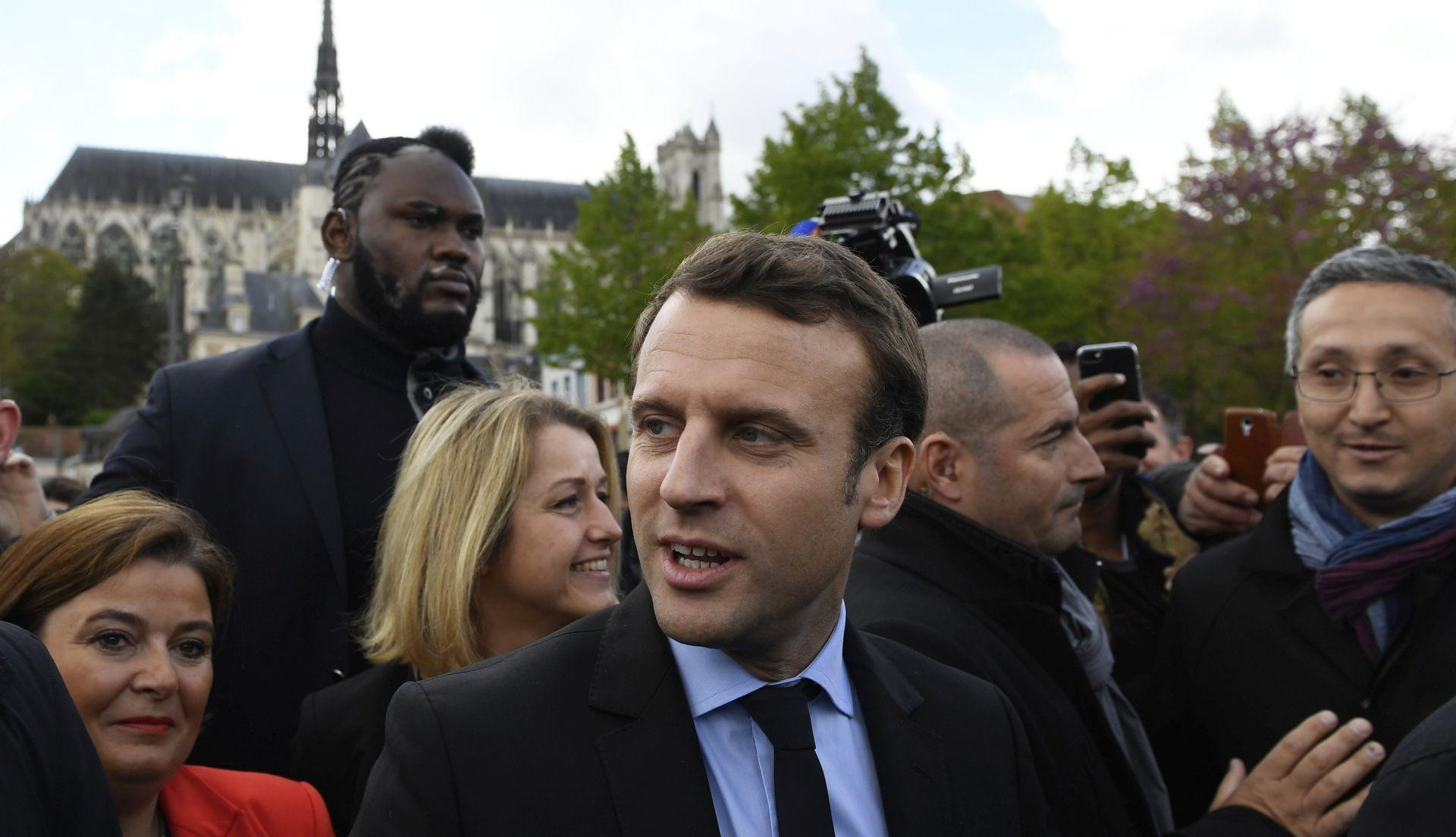 IZLAZNE ANKETE Emmanuel Macron novi je francuski predsjednik
