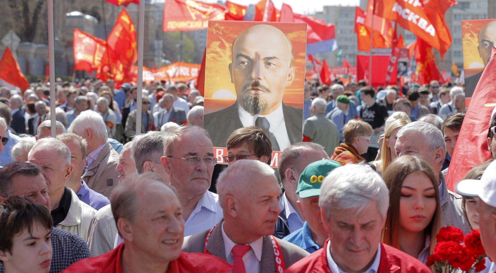 U Moskvi održana velika prvosvibanjska parada