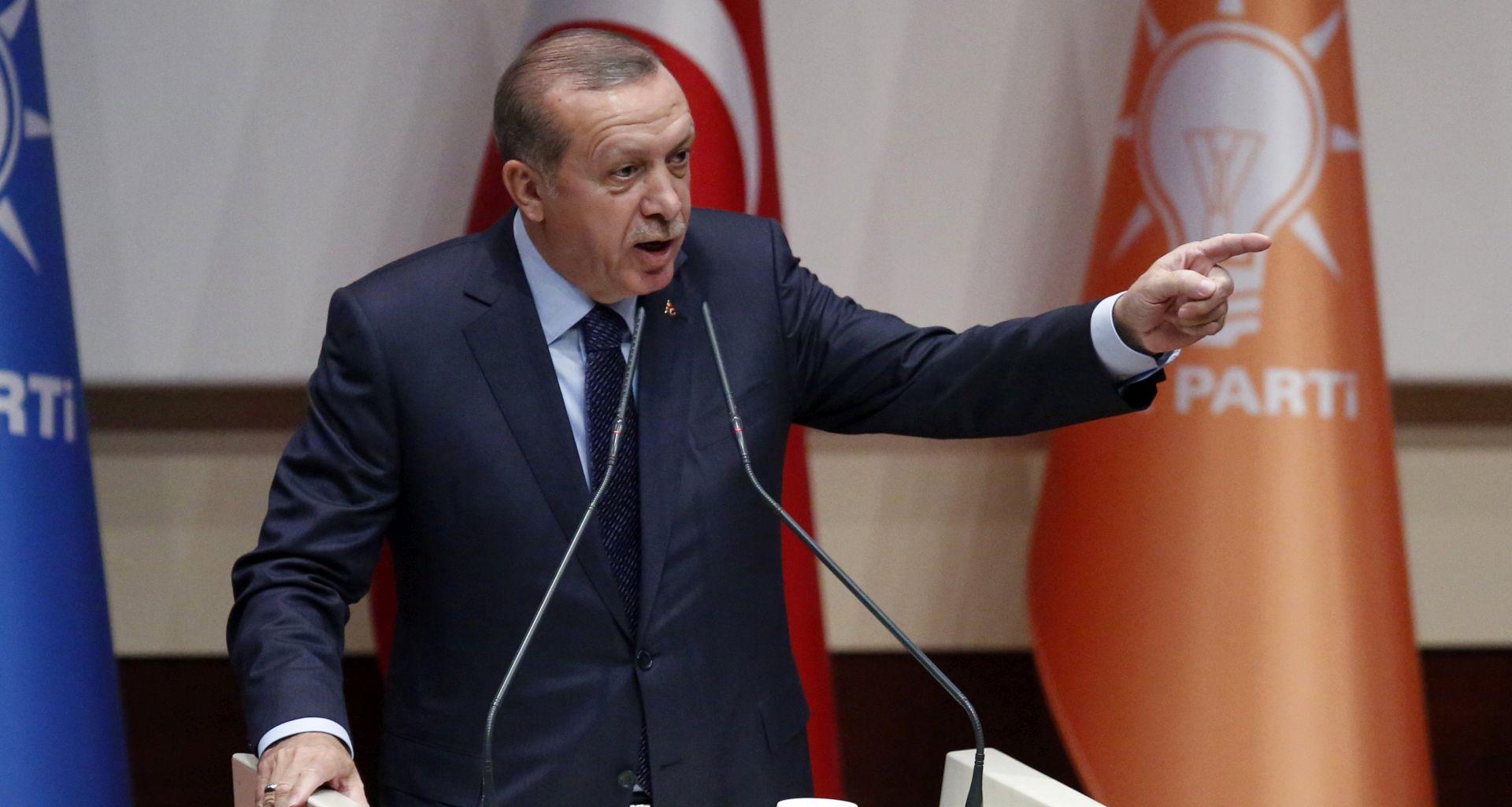 Erdogan oslobađanje američkog pastora uvjetuje izručenjem Gulena