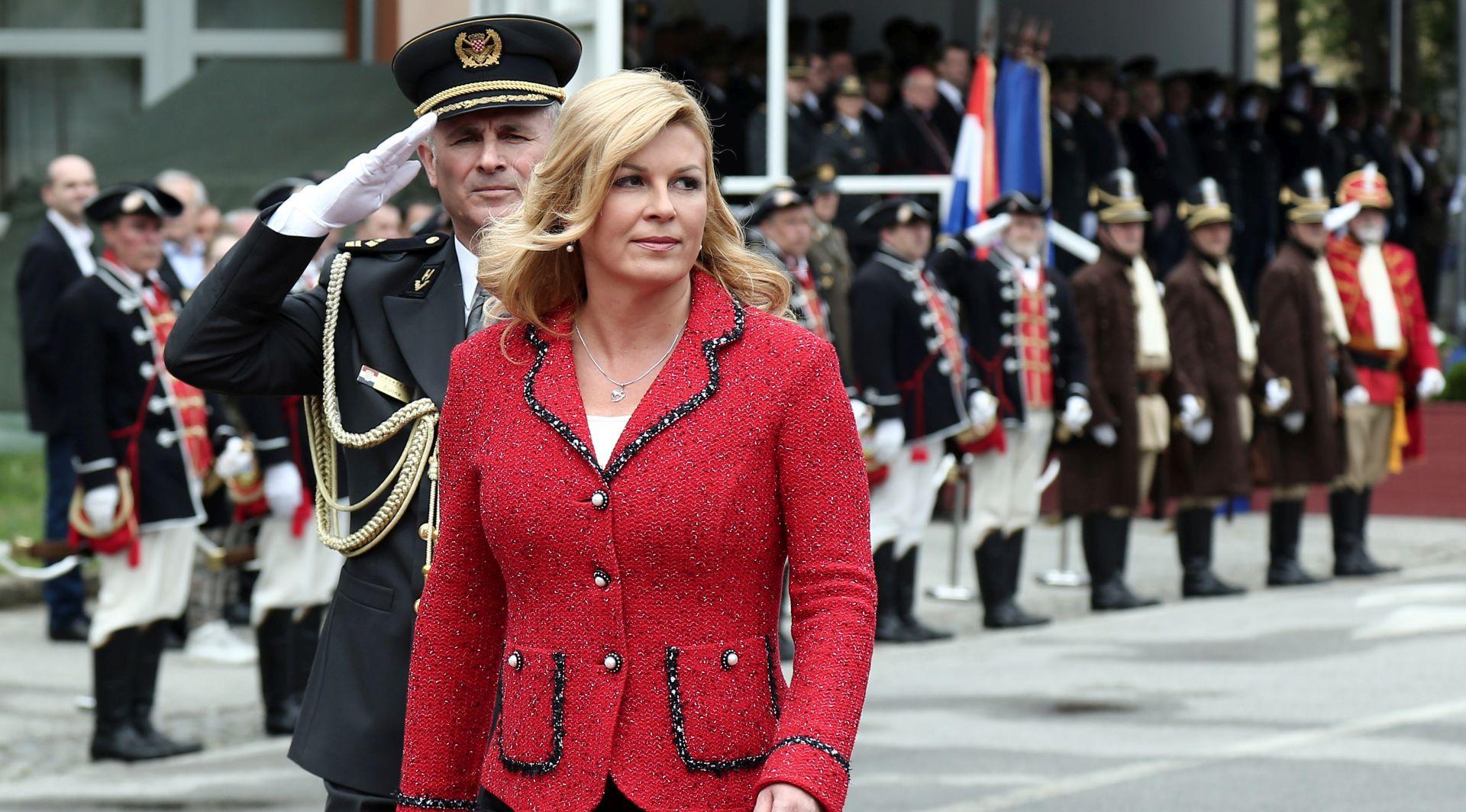 Predsjednica čestitala Dana Oružanih snaga i Dana Hrvatske kopnene vojske i 26. obljetnice ustrojavanja OS RH