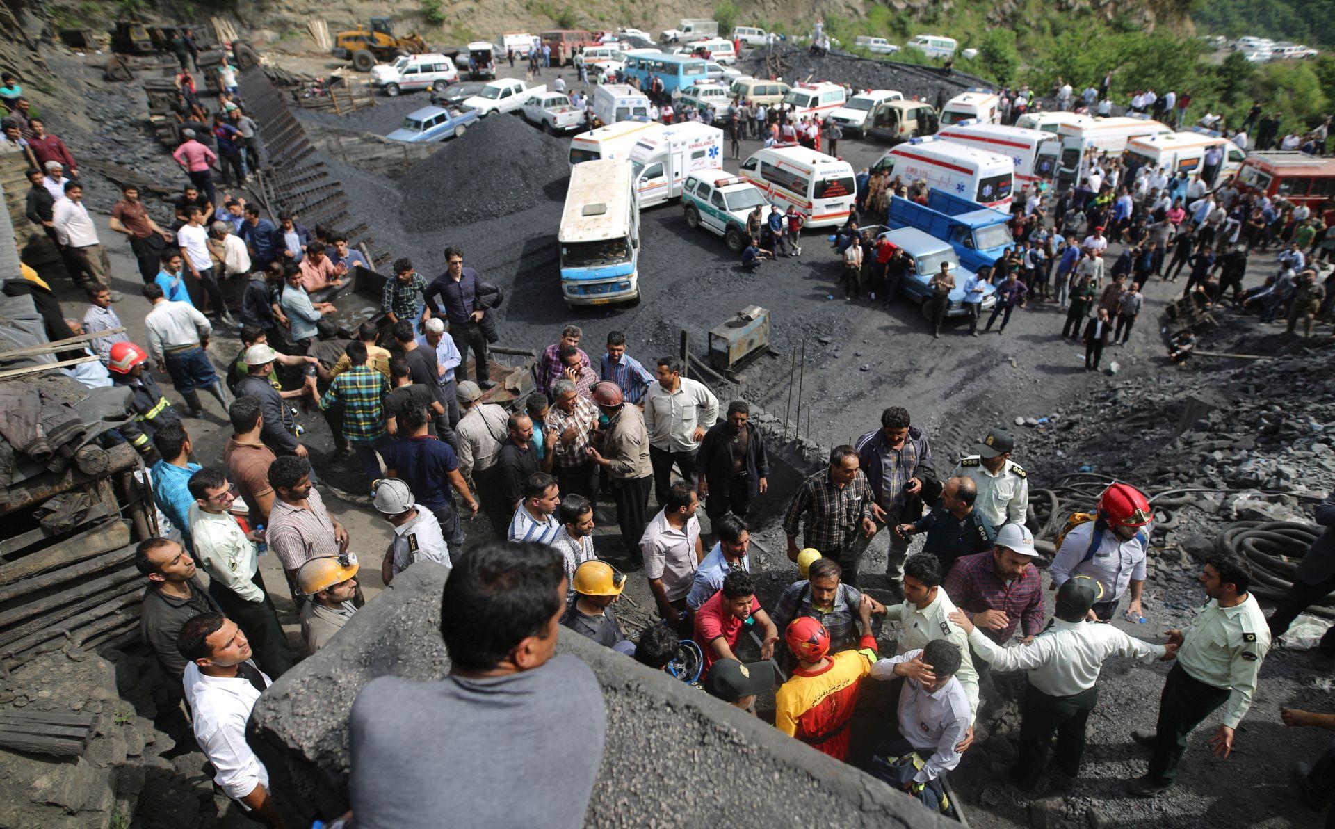 U nesreći u iranskom rudniku 21 mrtav