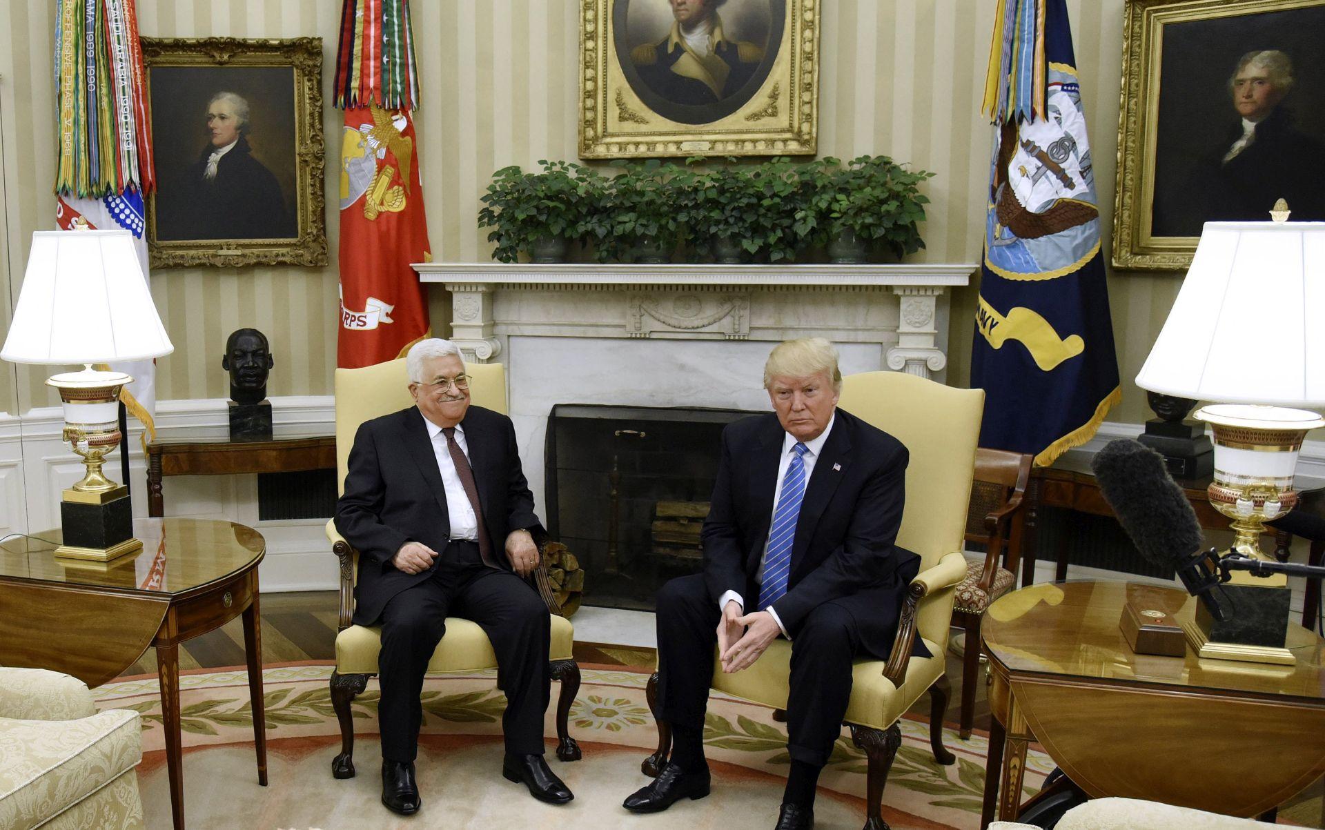 Trump voljan raditi s Palestincima i Izraelcima na mirovnom sporazumu