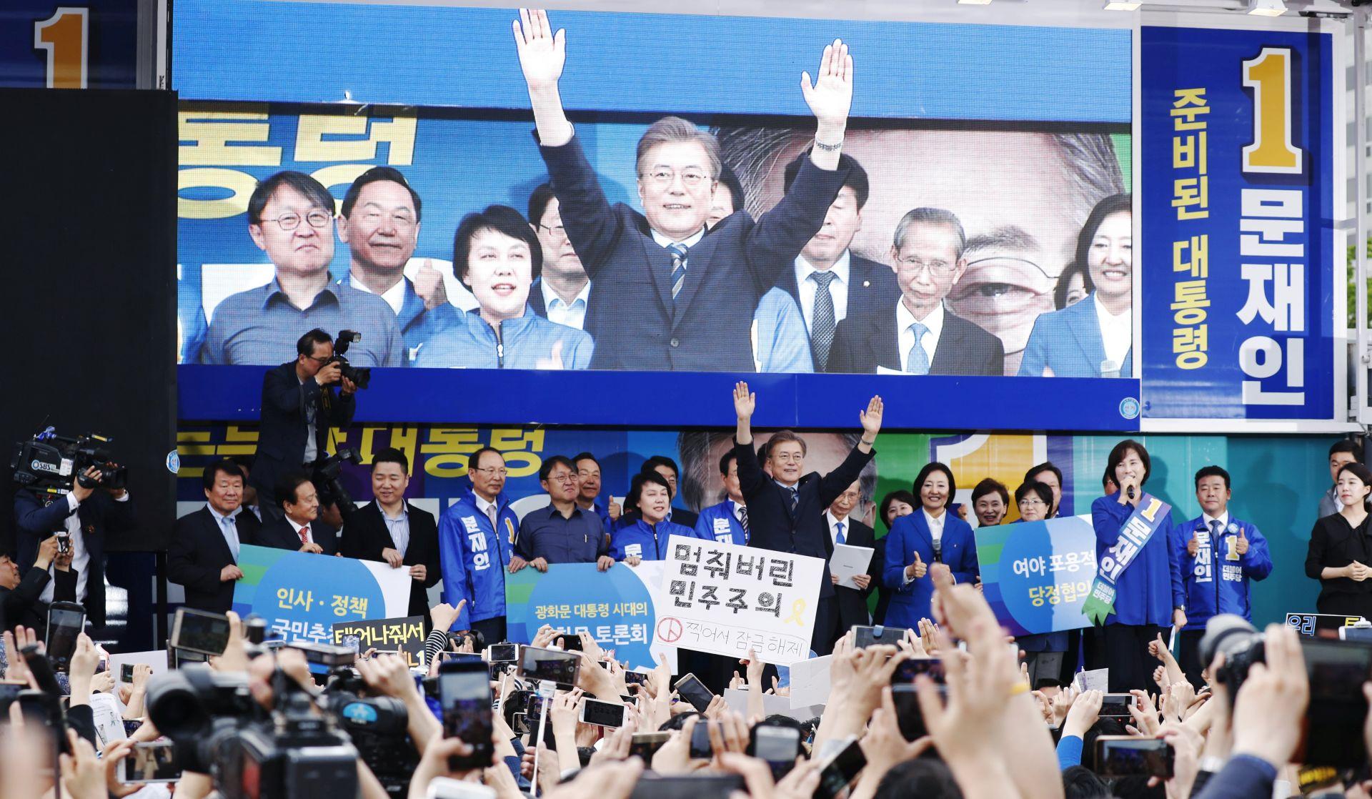 Novoizabrani predsjednik Južne Koreje najavio rad na odnosima sa Sjevernom Korejom