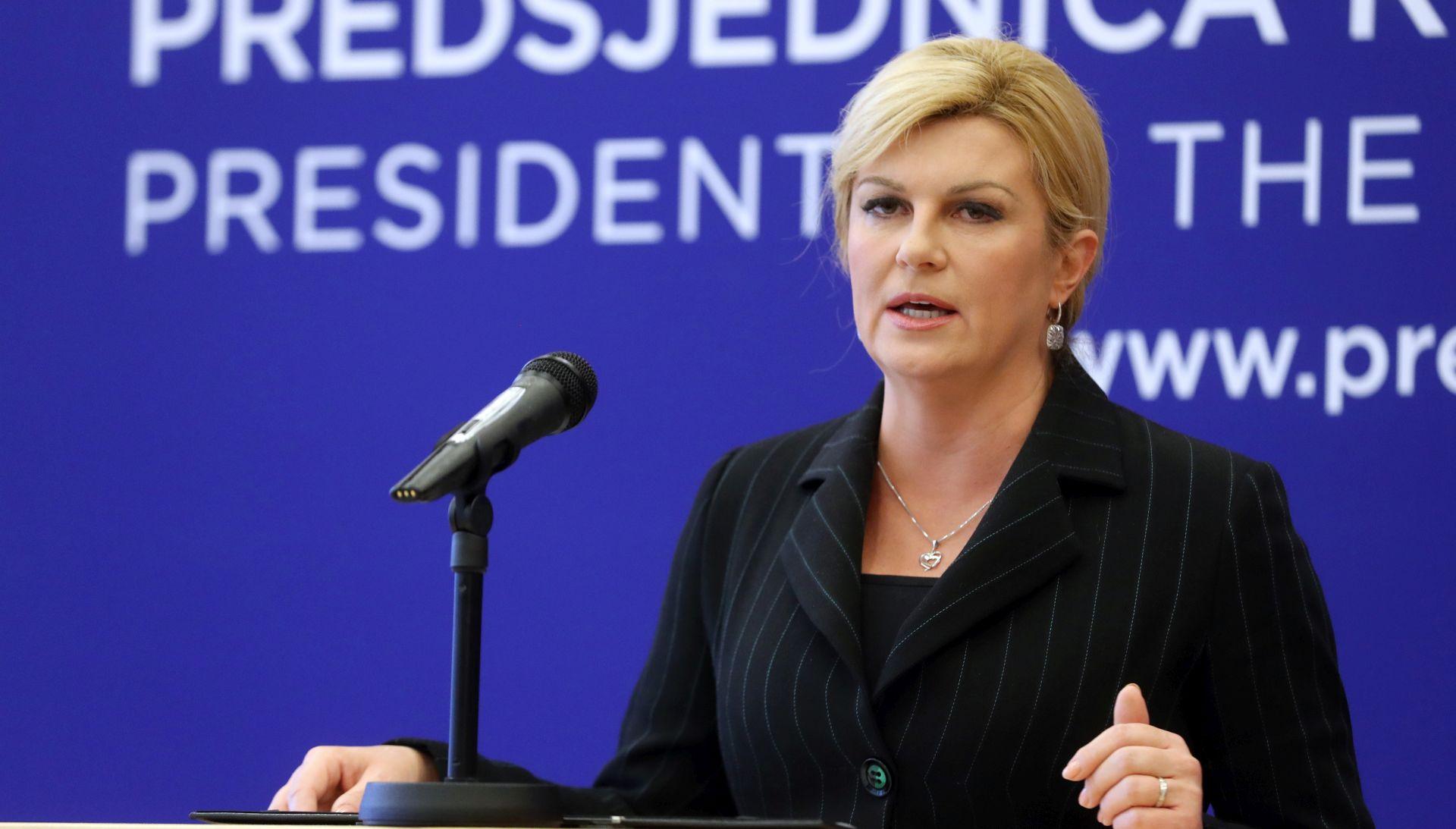 Kolinda Grabar-Kitarović na Forumu o globalnoj sigurnosti u Bratislavi