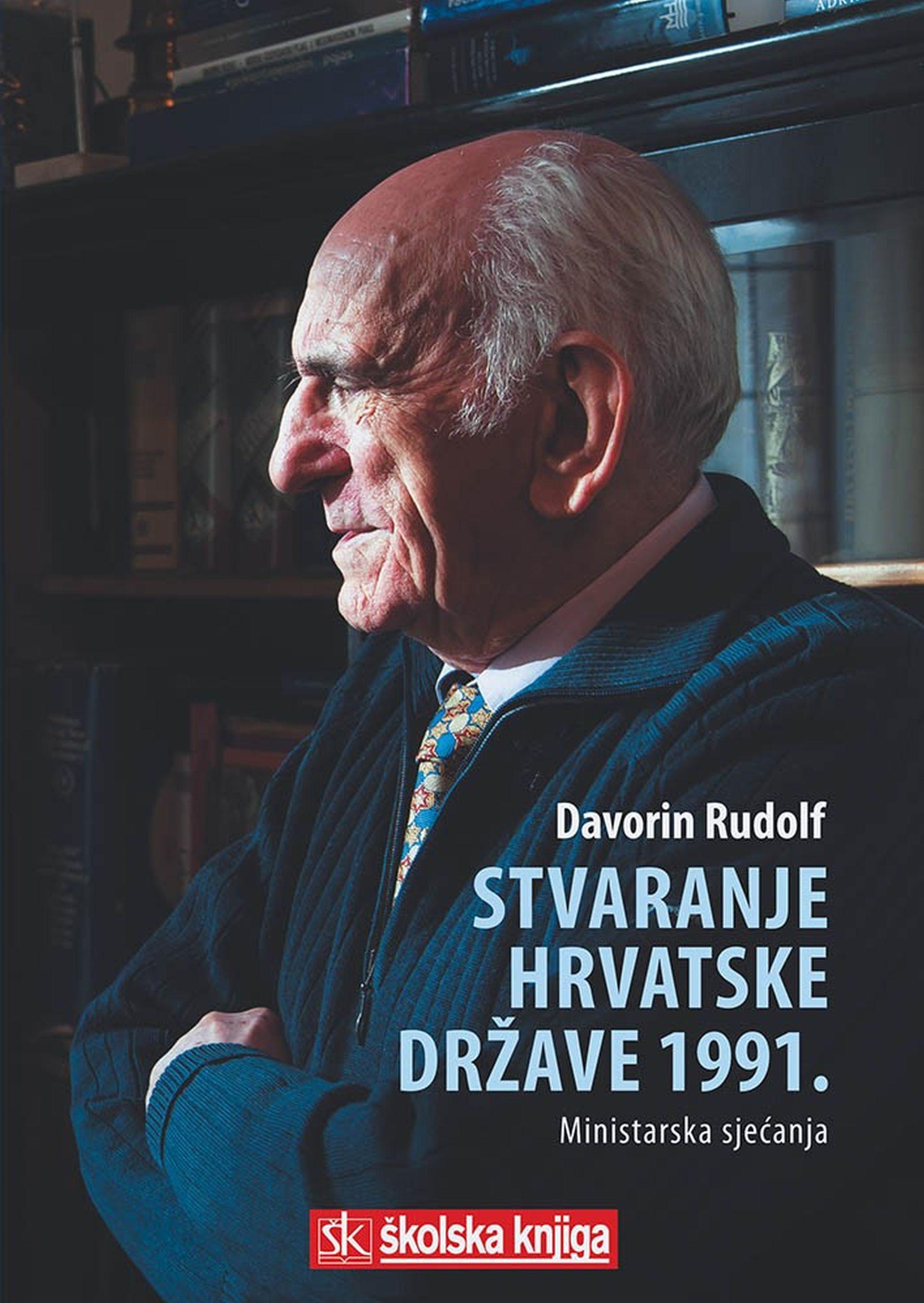 """Predstavljena knjiga """"Stvaranje hrvatske države 1991. – Ministarska sjećanja"""" akademika Rudolfa"""