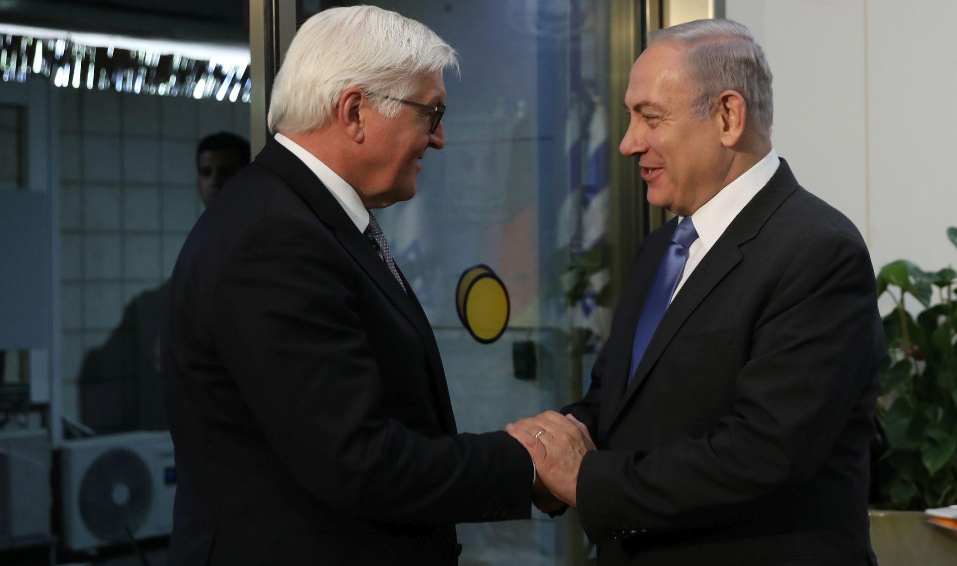 Steinmeier i Netahyahu riješili diplomatsku krizu