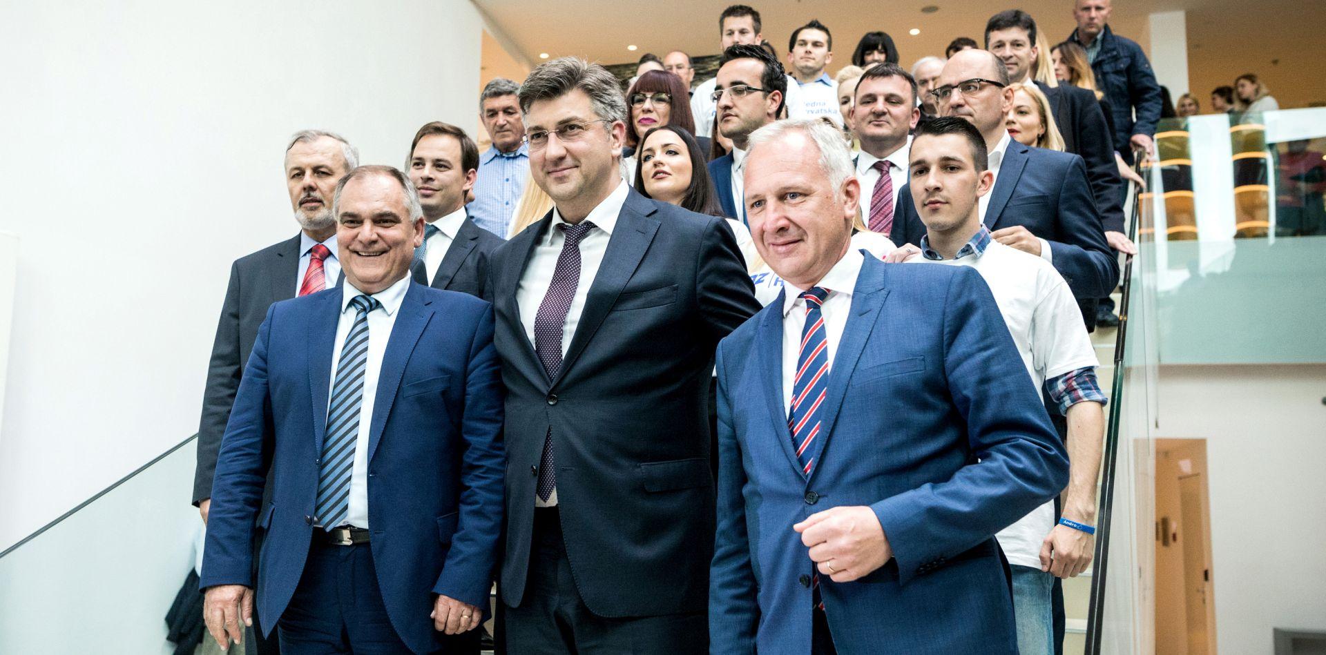 """PLENKOVIĆ U SPLITU """"Hrvatskoj je zbog krize u Agrokoru prijetio financijski i gospodarski tsunami"""""""
