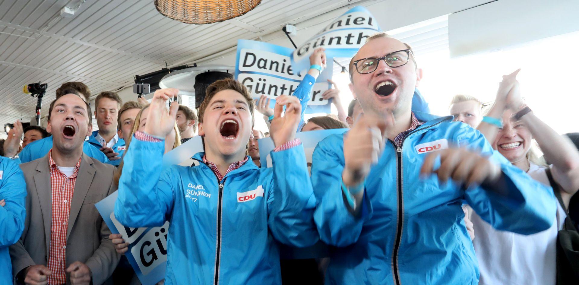 IZBORI U SCHLESWIG-HOLSTEINU Pobjeda CDU-a Angele Merkel