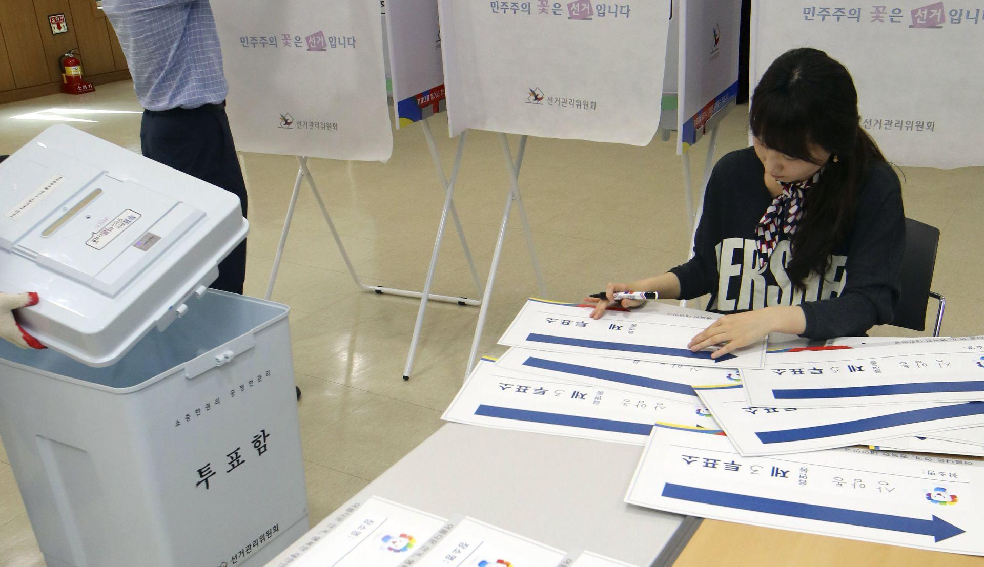 Južna Koreja bira novog predsjednika, očekuje se rekordan odziv