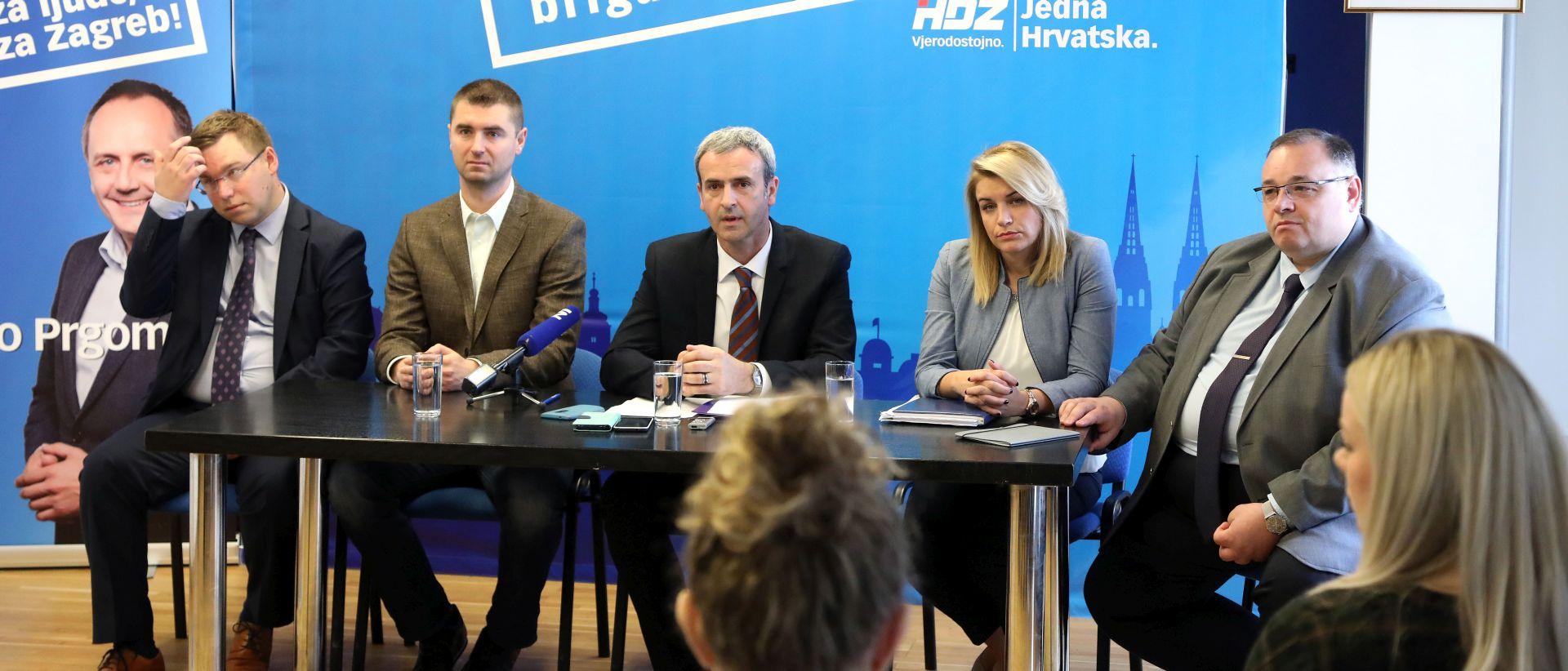 Krunoslav Katičić, Prgometov kandidat za zamjenika o upravljanja gradskom imovinom