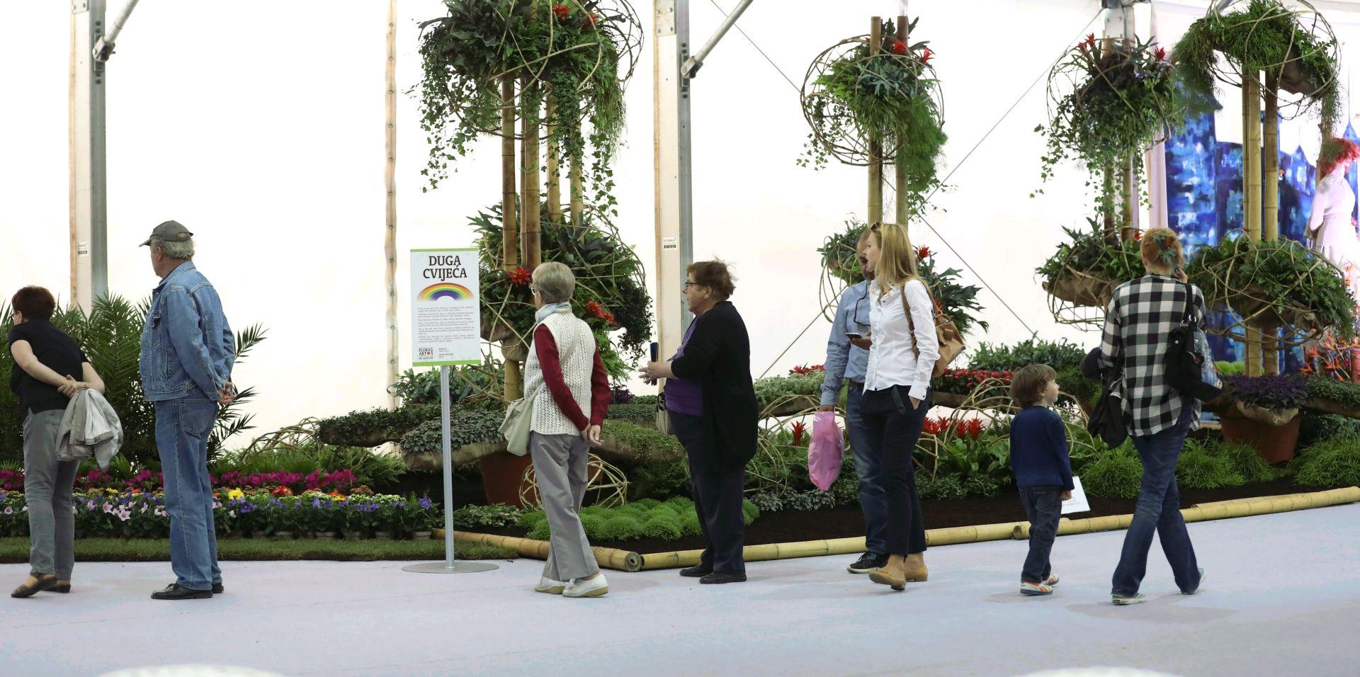 """Zatvoren """"Floraart"""", izložbu razgledalo oko 350.000 posjetitelja"""