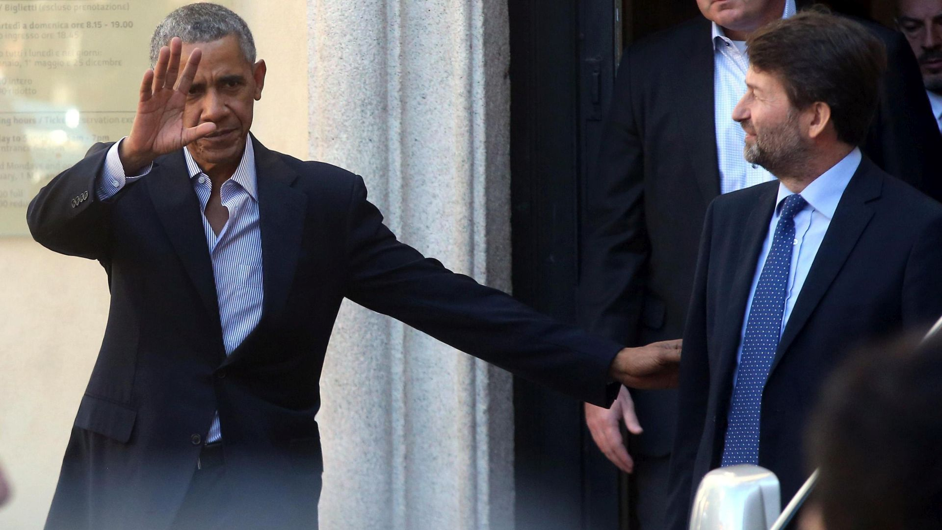 """MILANO Obama kaže da je kao predsjednik živio u """"lijepom zatvoru"""""""