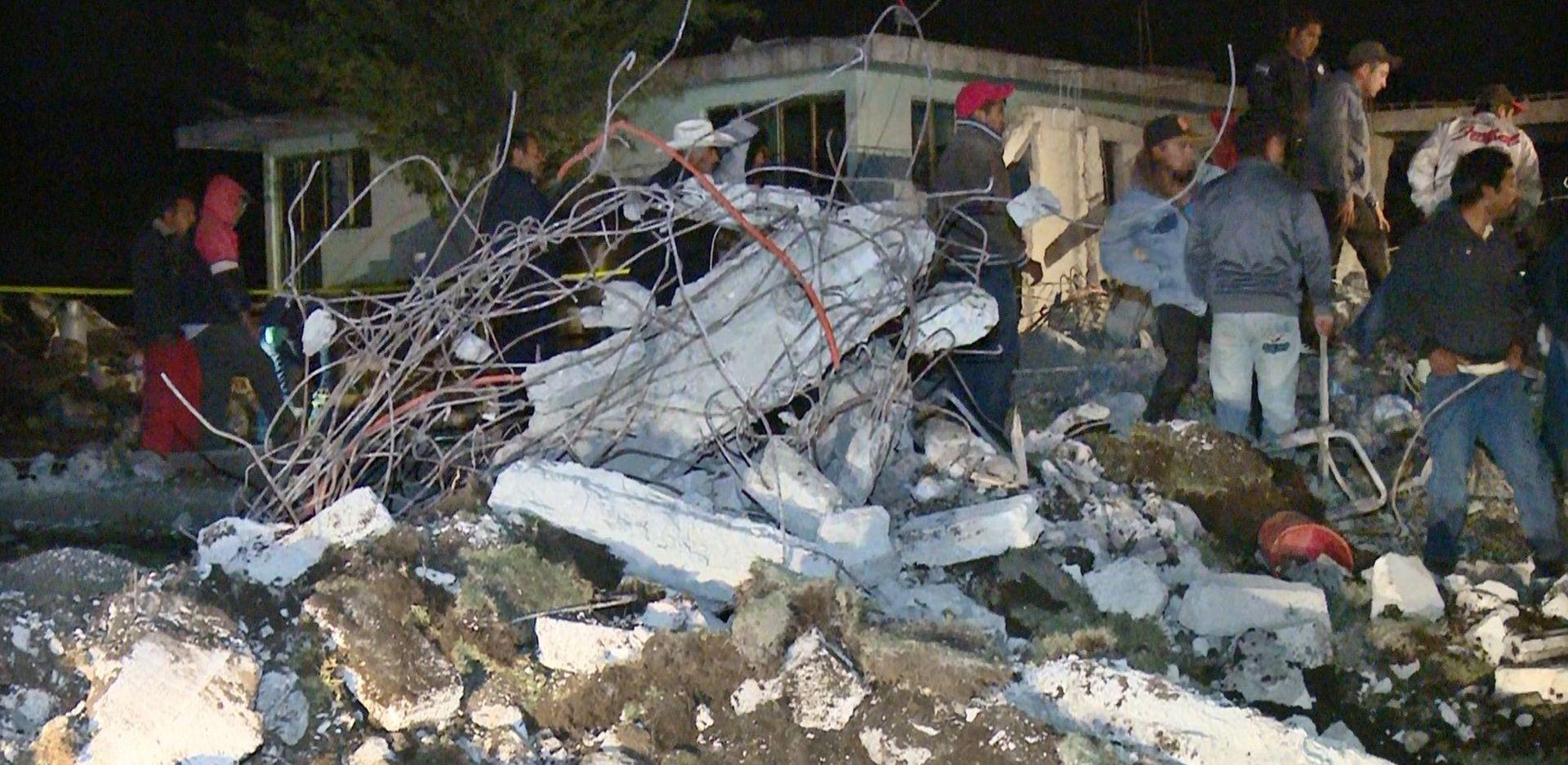 Najmanje 14 mrtvih u eksploziji skladišta pirotehnike u Meksiku