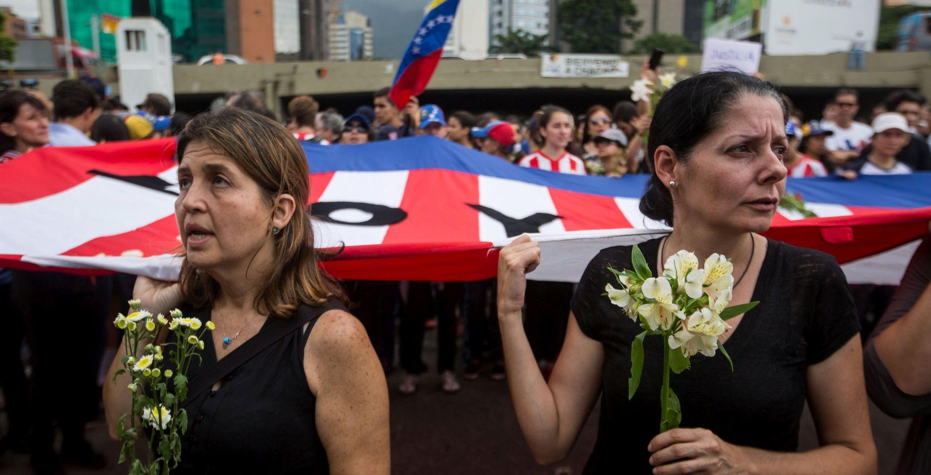 U Venezueli umirovljenici prosvjeduju protiv Madura