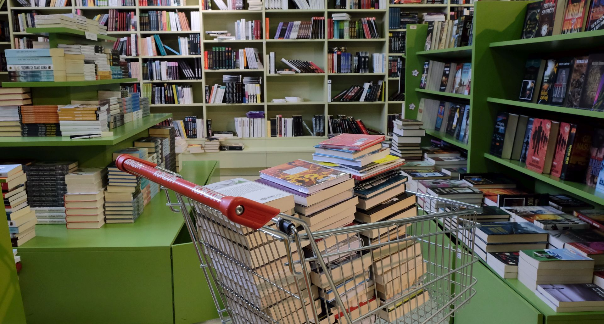 LOVRIĆ 'U Zagrebu knjižarima zakupnina od jedne kune po četvornom metru'