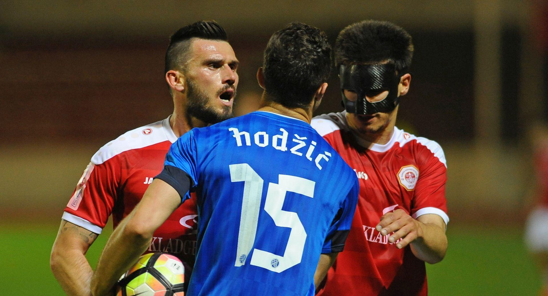 HNL Dinamo minimalno protiv Splita, 'Modri' došli na dva boda od Rijeke