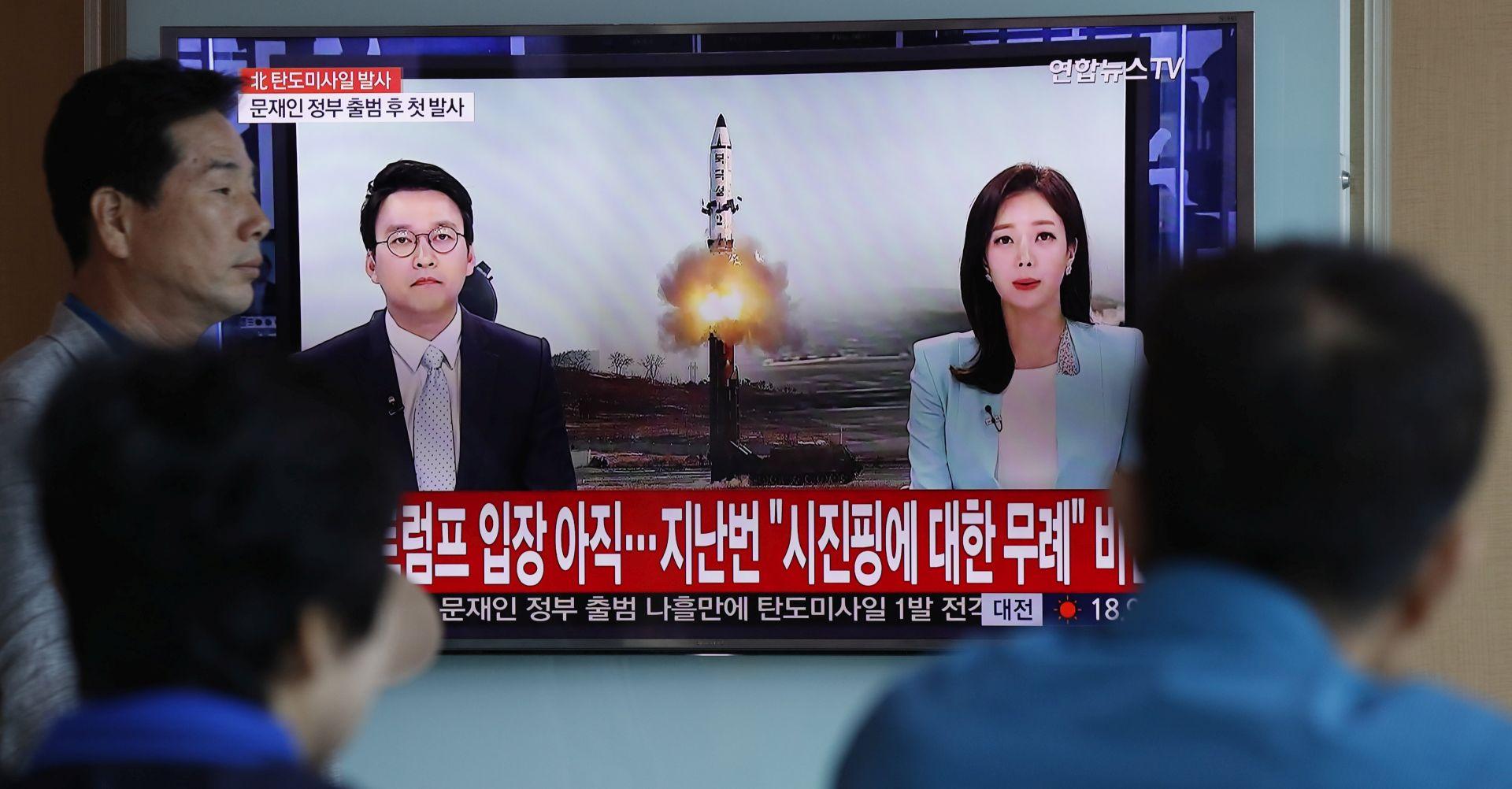 Sjeverna Koreja tvrdi da je testirala novu vrstu projektila