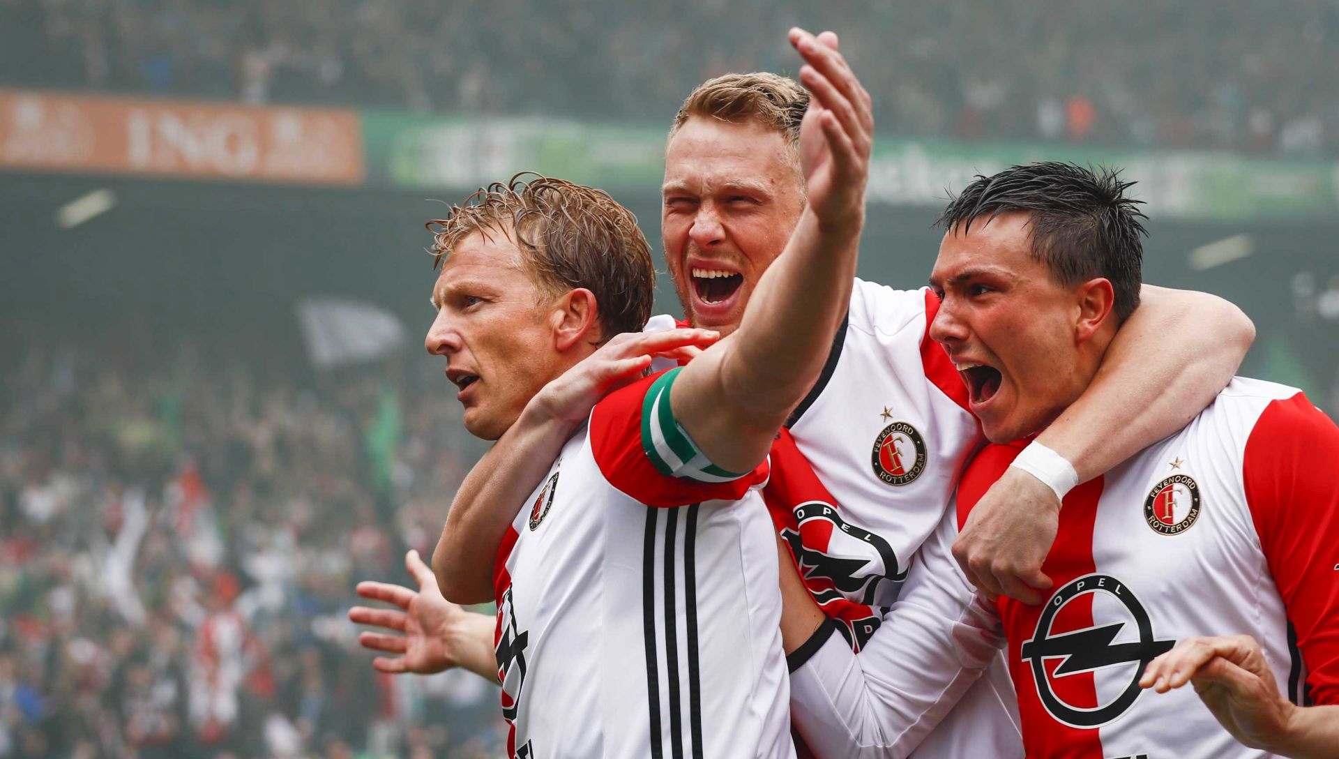 VELIKO SLAVLJE Feyenoord prvak nakon 18 godina