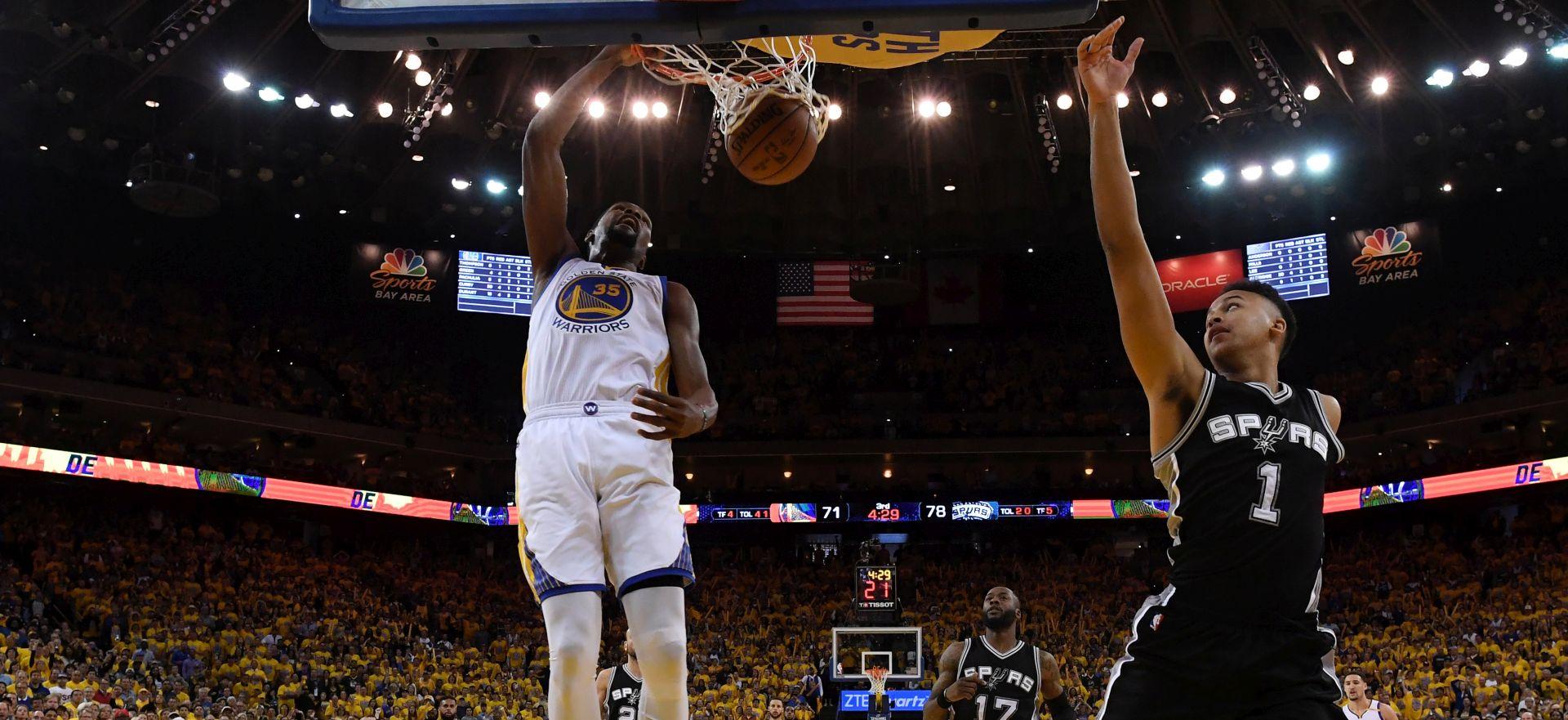 NBA FINALE ZAPADA Warriorsi okrenuli 25 razlike protiv Spursa