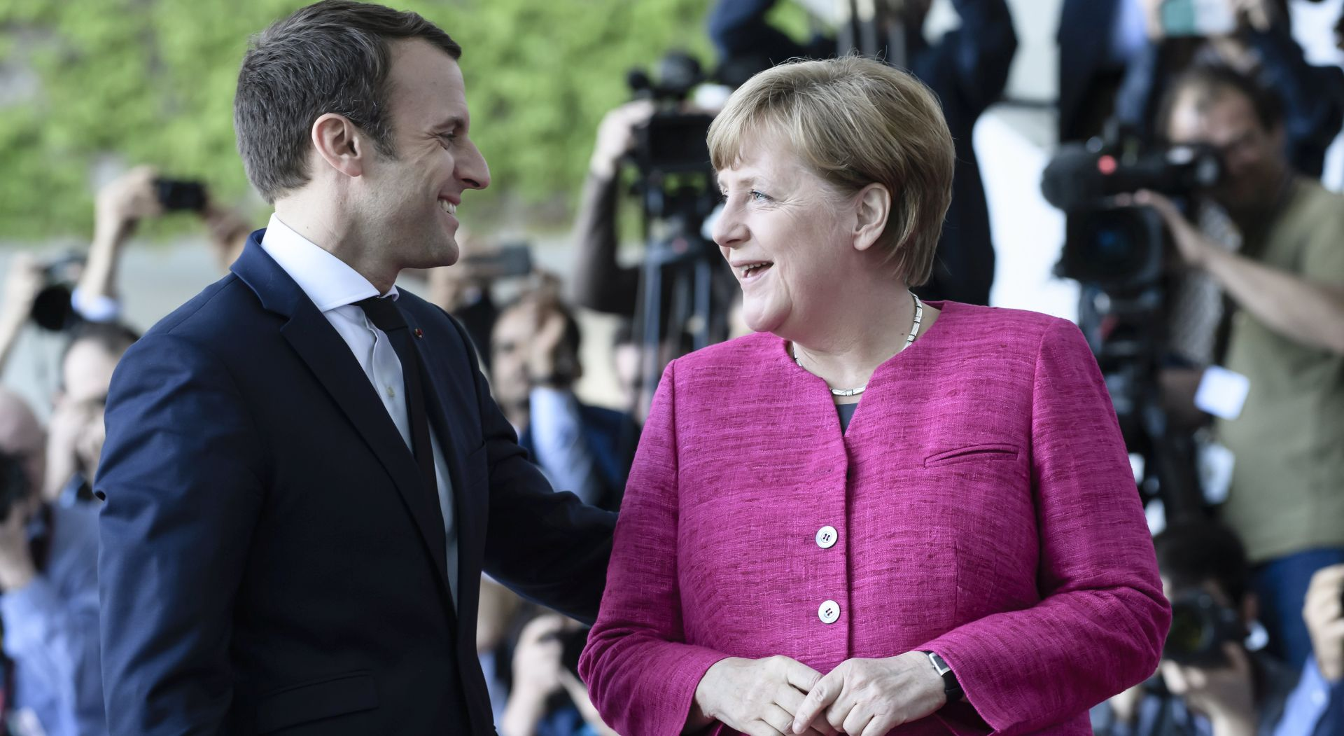 "Merkel i Macron za ""novu Europu"""