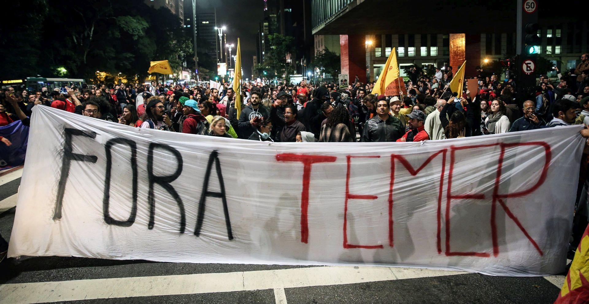 Mandat brazilskog predsjednika Temera visi o koncu, on ne želi dati ostavku