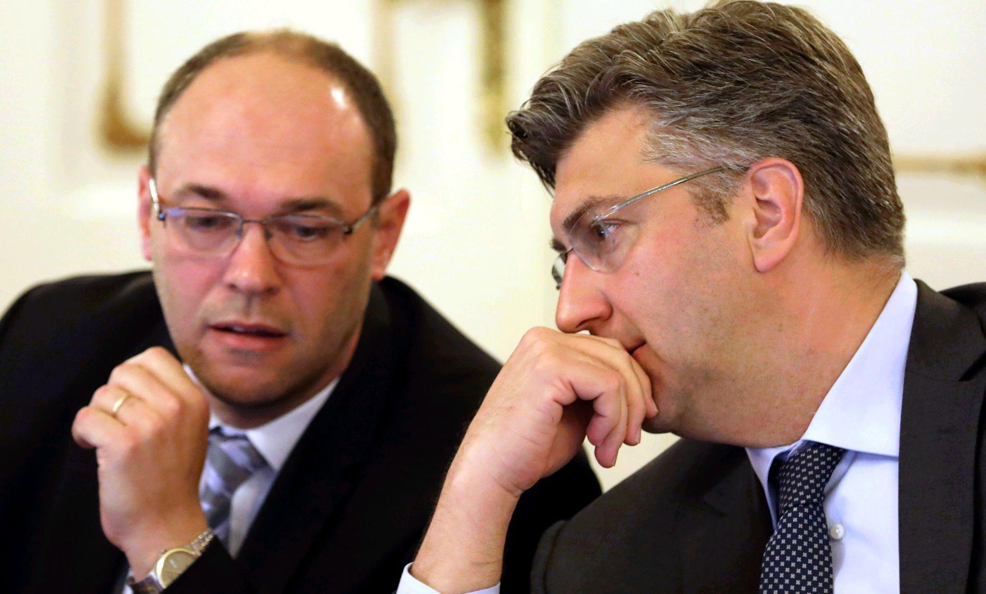 Stier suradnicima priznao da ima ambicije preuzeti HDZ