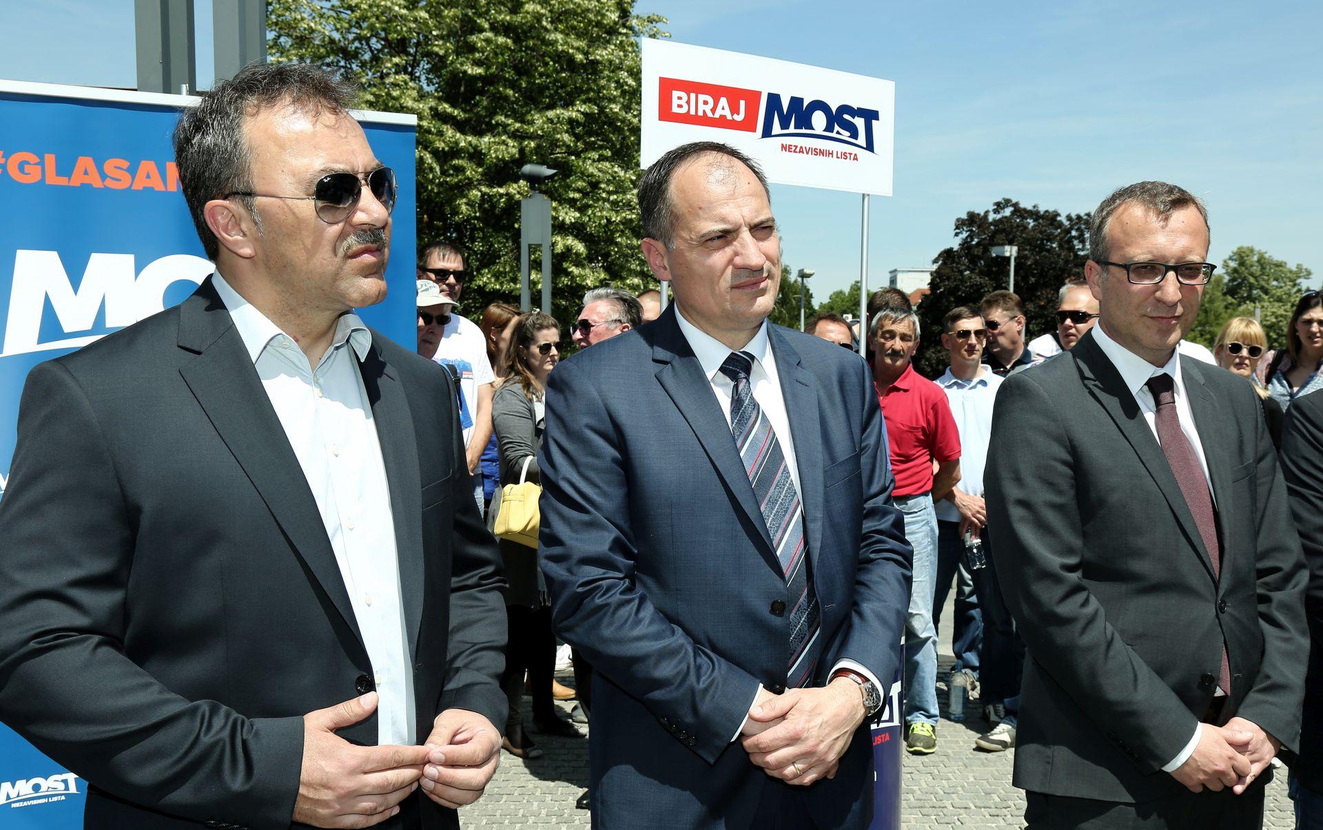 Sladoljev (Most) predstavio listu za zagrebačku Gradsku skupštinu