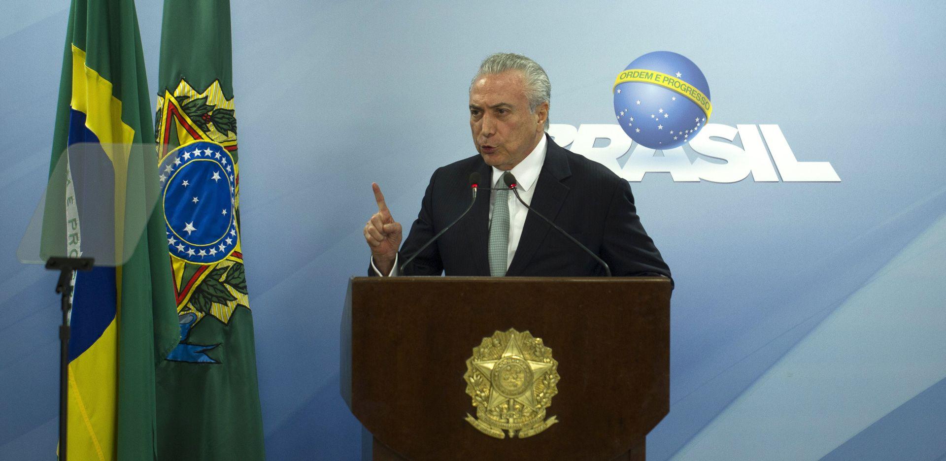 BRAZIL Temer optužen da je uzeo milijune dolara mita od 2010.