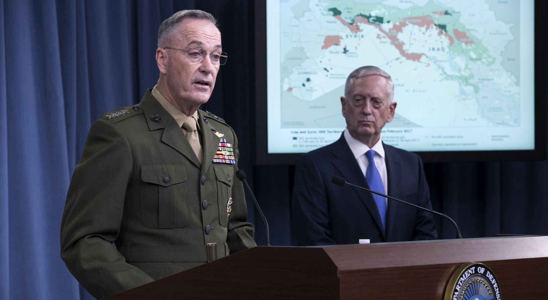 """Pentagon kaže da je """"Rusija bila jako korisna na jugu Sirije"""""""