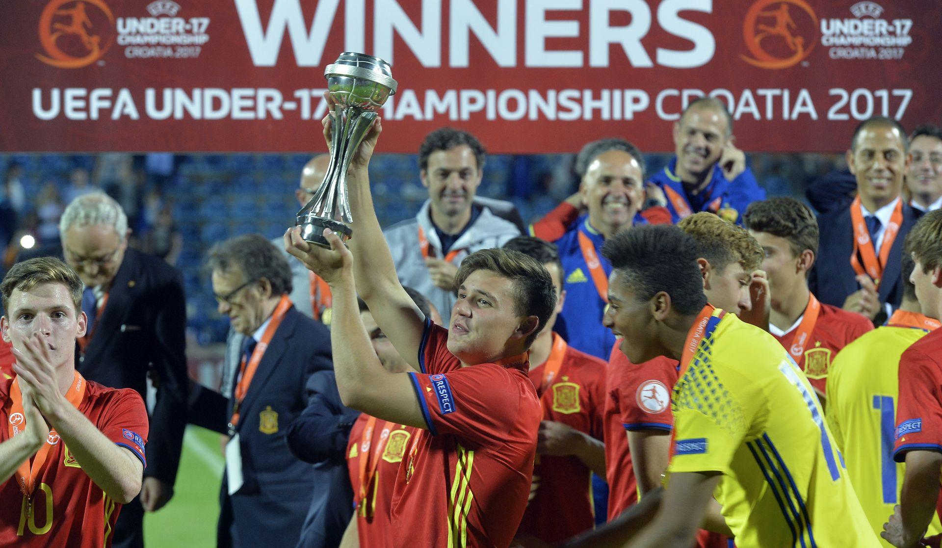 EP U-17 Španjolci osvojili treći uzastopni naslov prvaka