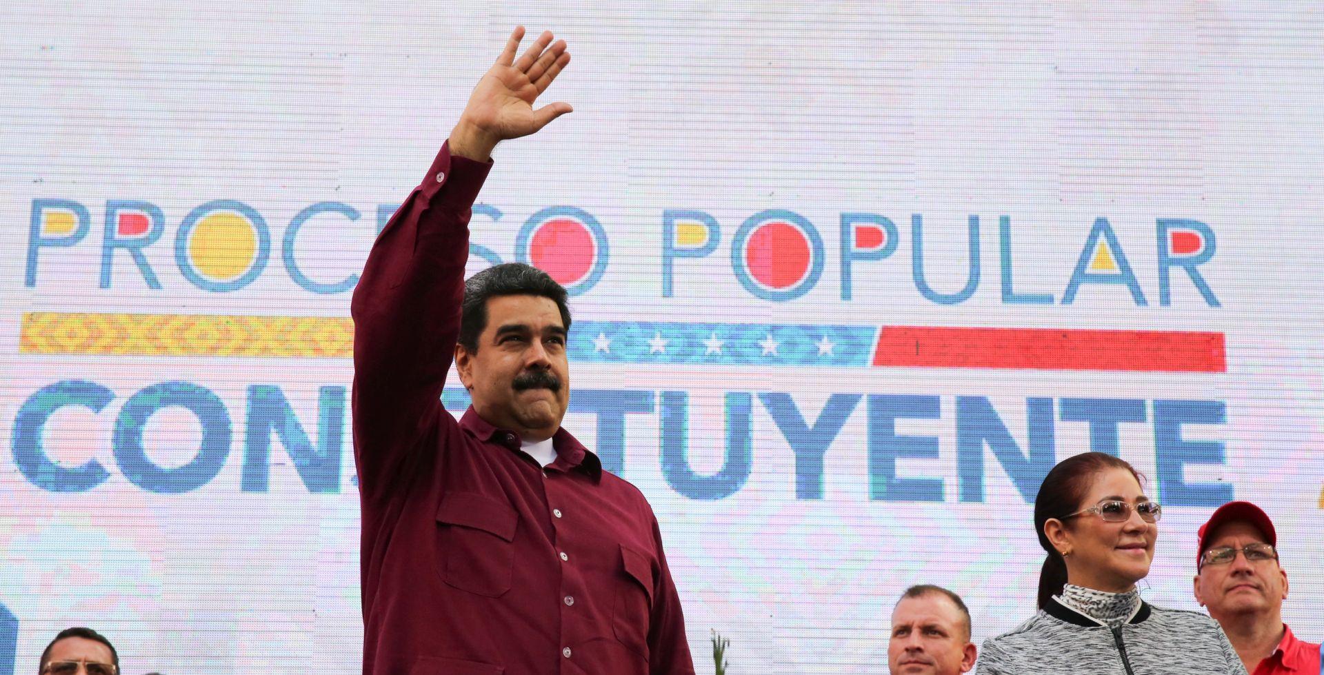 """MADURO TRUMPU """"Makni svoje prljave ruke od Venezuele"""""""