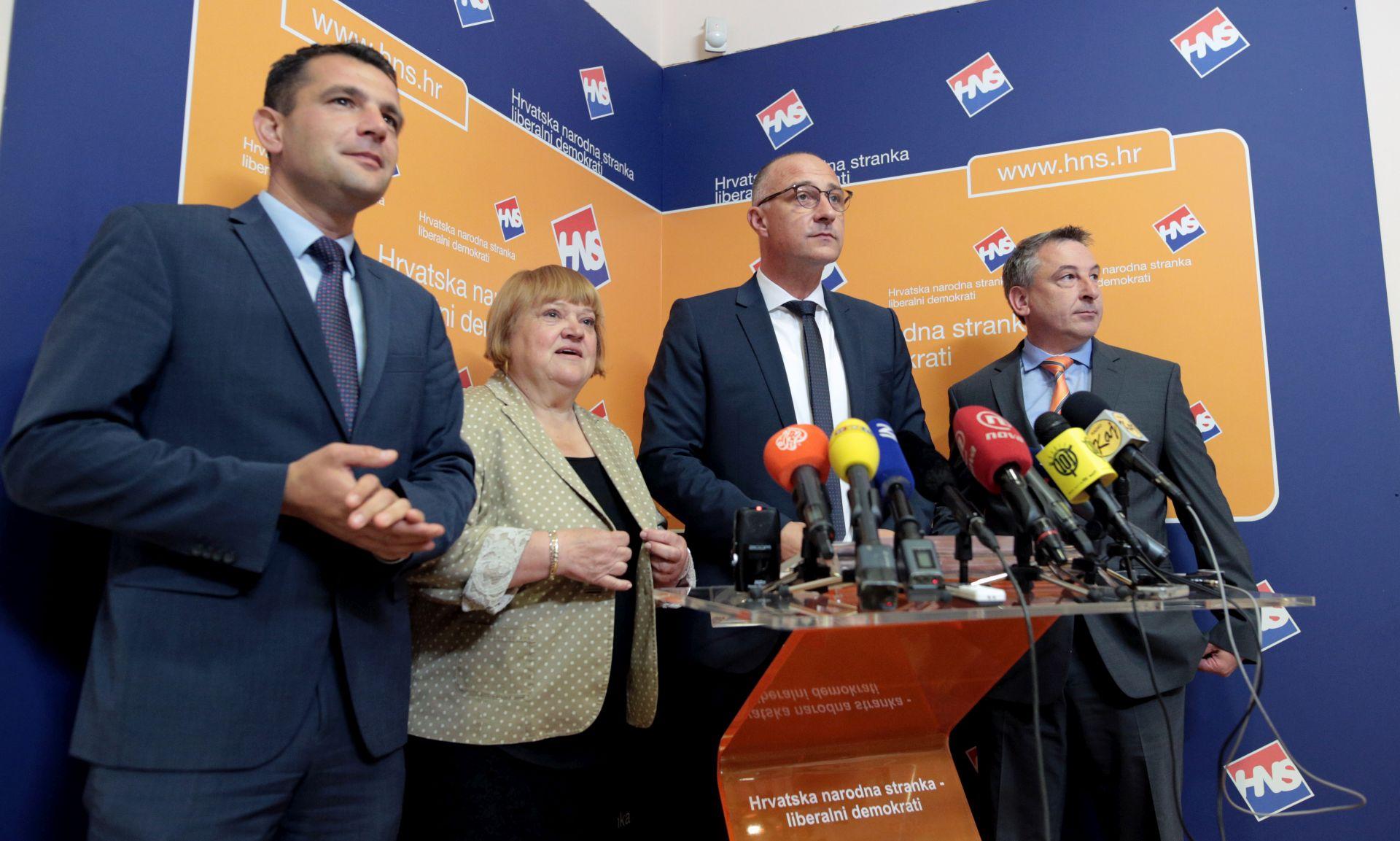 VRDOLJAK 'HNS pokazao da je treća politička snaga u Hrvatskoj'