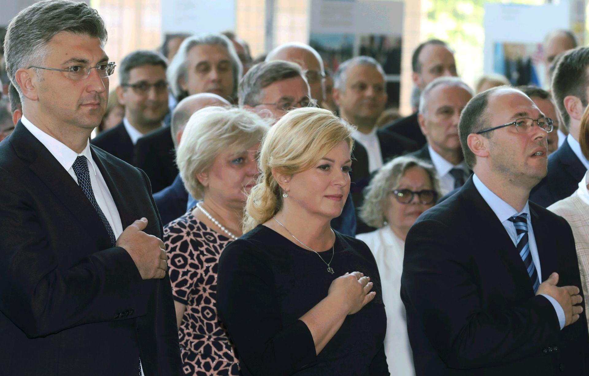 Državni vrh obilježio 25. godišnjicu hrvatskog članstva u UN-u