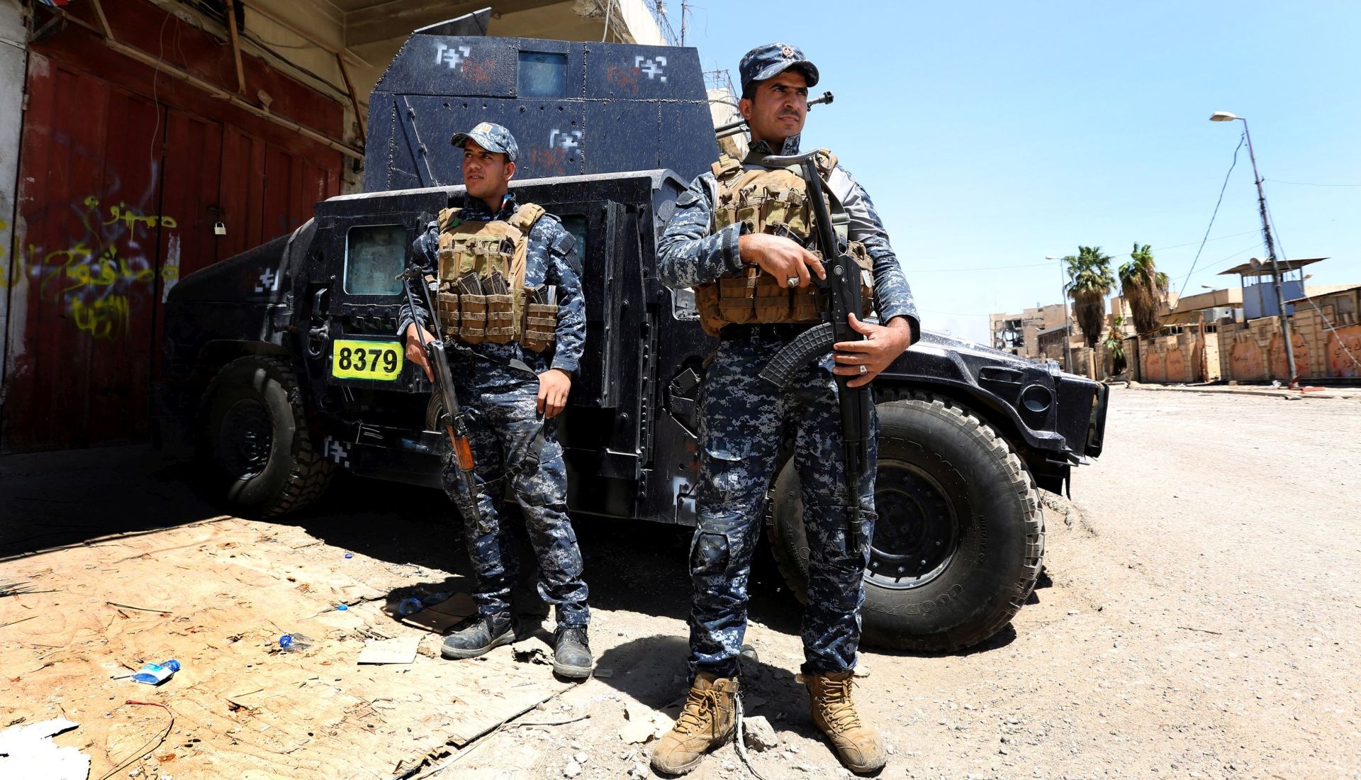 Iračke snage napreduju u Mosulu, civili u velikoj opasnosti