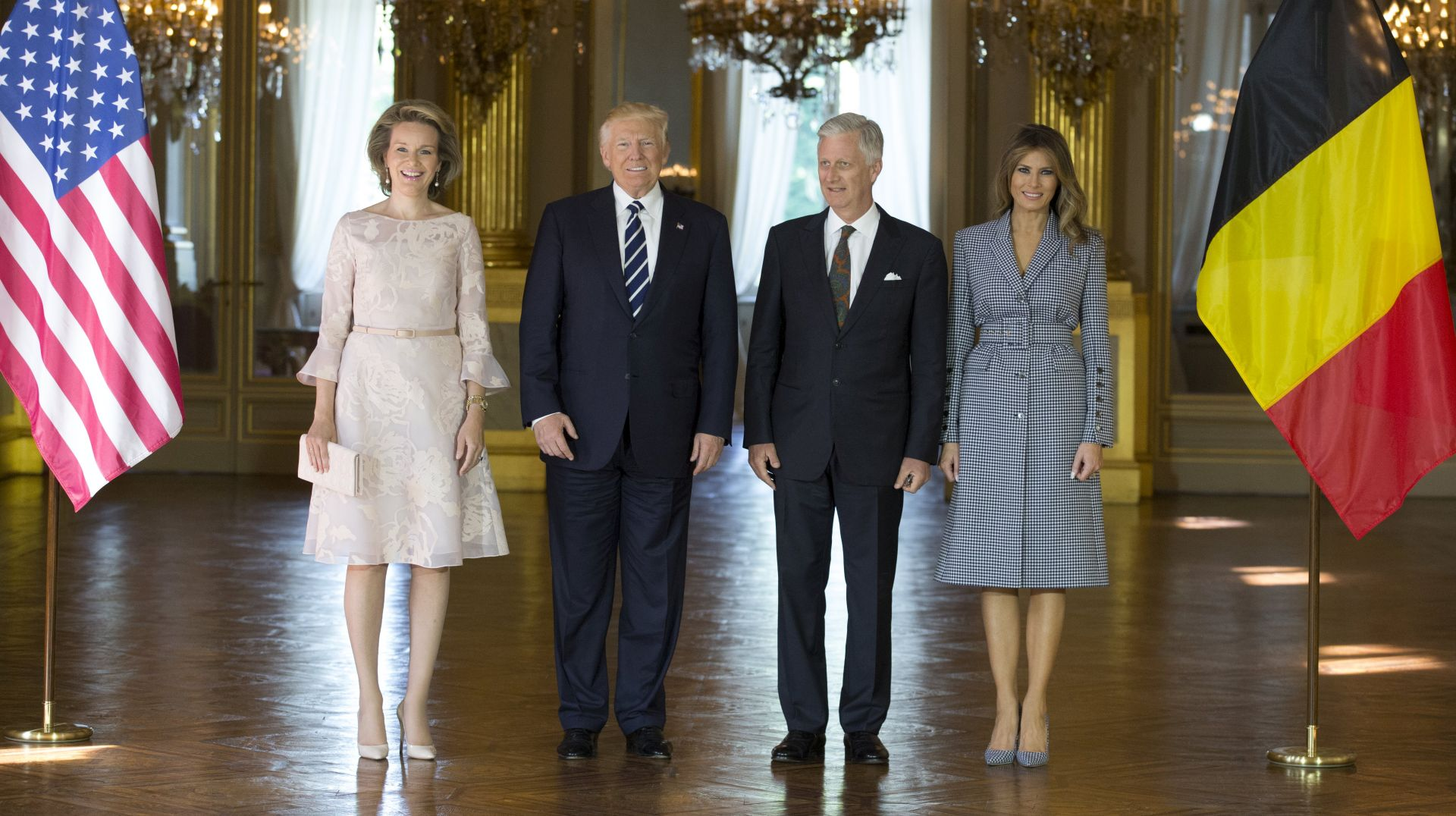 Trump stigao u Bruxelles u prvi posjet NATO-u