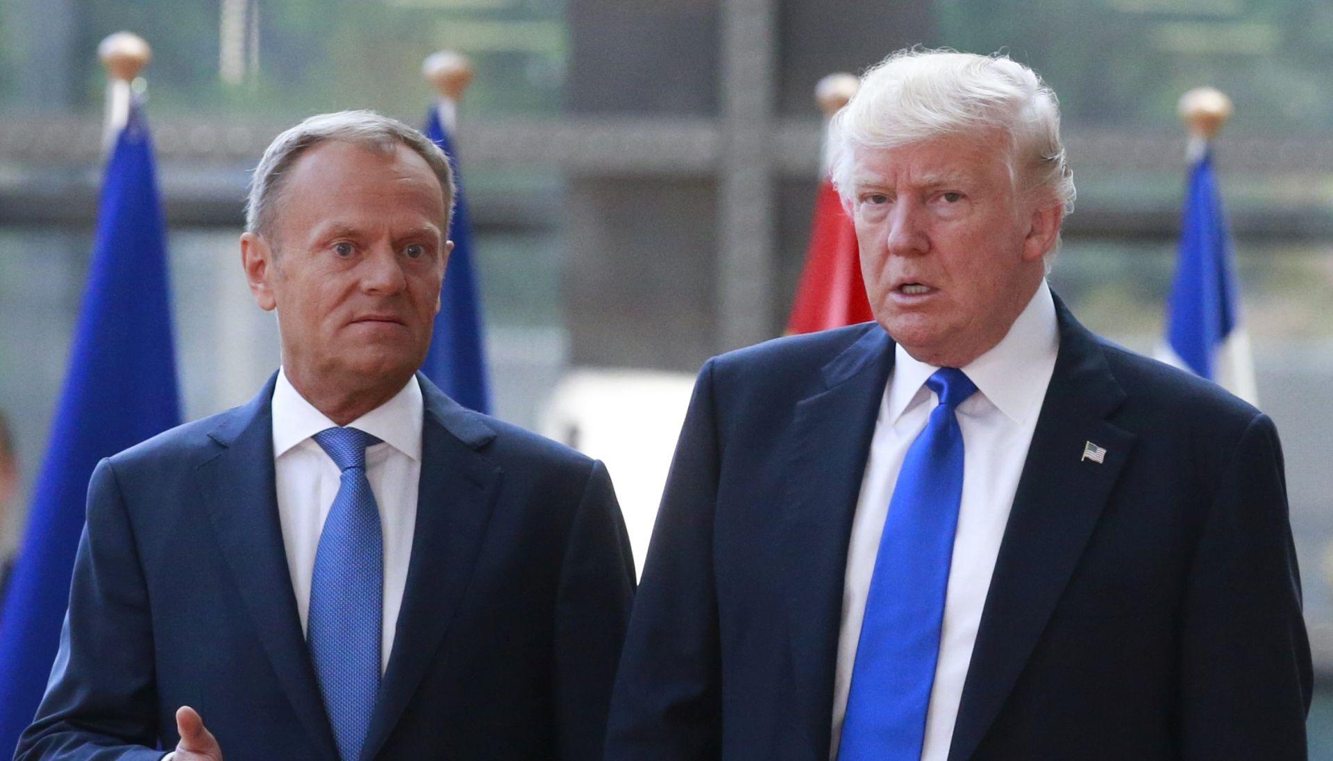 Tusk i Juncker upozoravaju Trumpa na posljedice napuštanja Pariškog sporazuma